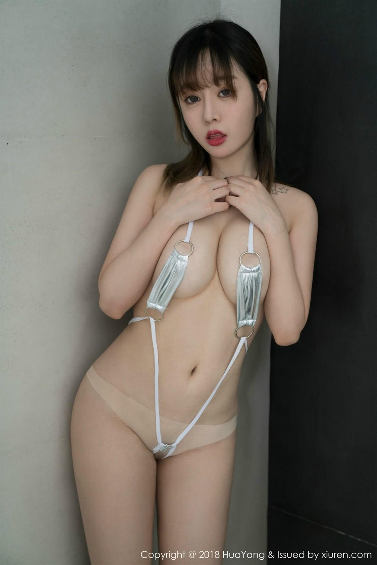 HuaYang Vol.061 25P, HuaYang, Wang Yu Chun