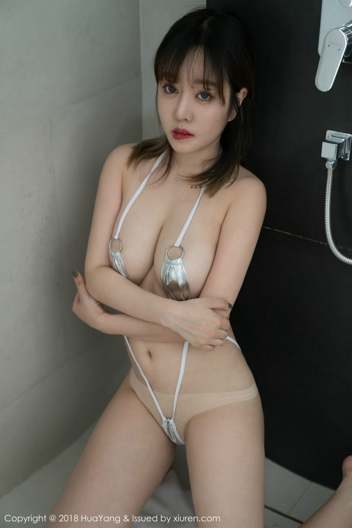HuaYang Vol.061 28P, HuaYang, Wang Yu Chun