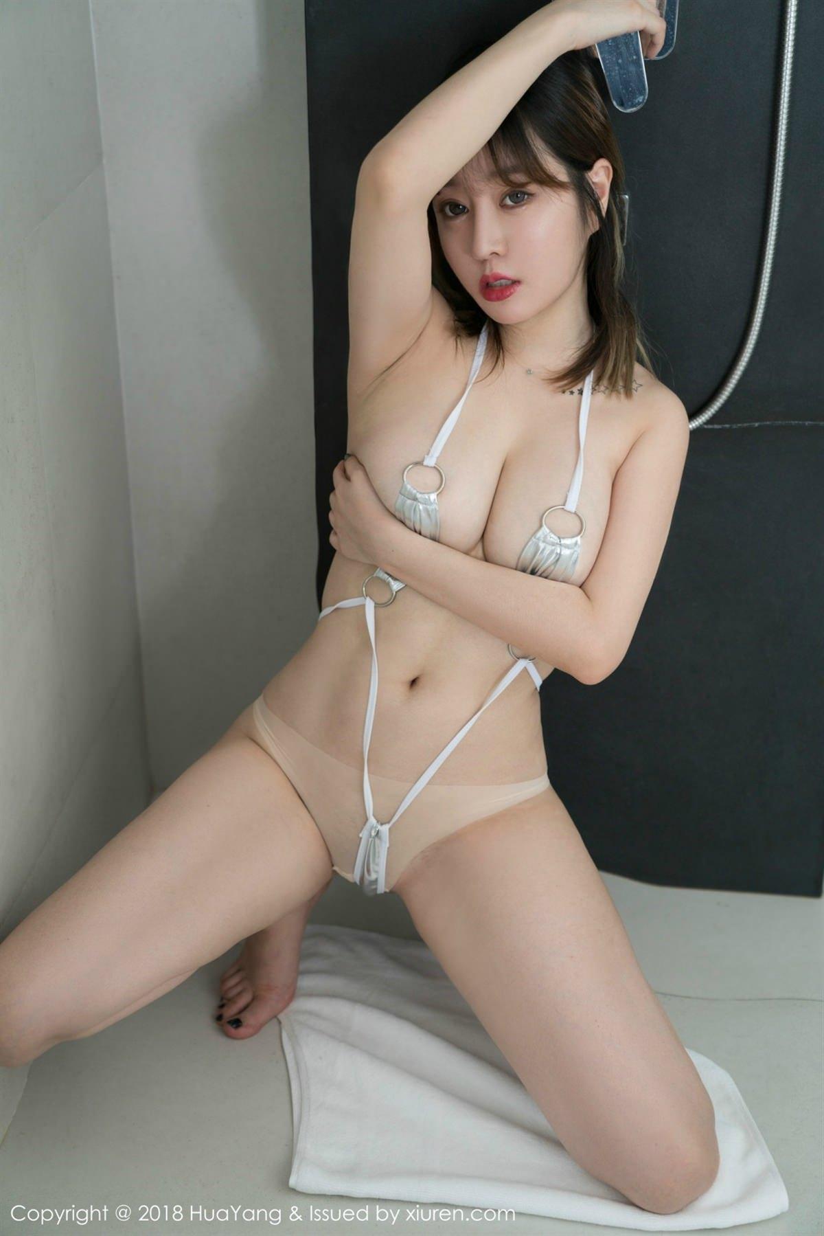 HuaYang Vol.061 30P, HuaYang, Wang Yu Chun