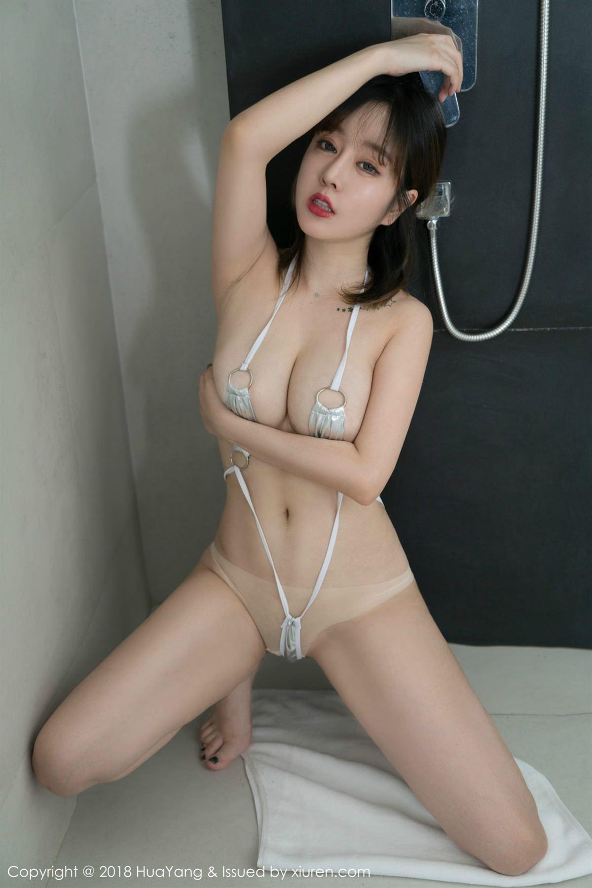 HuaYang Vol.061 33P, HuaYang, Wang Yu Chun