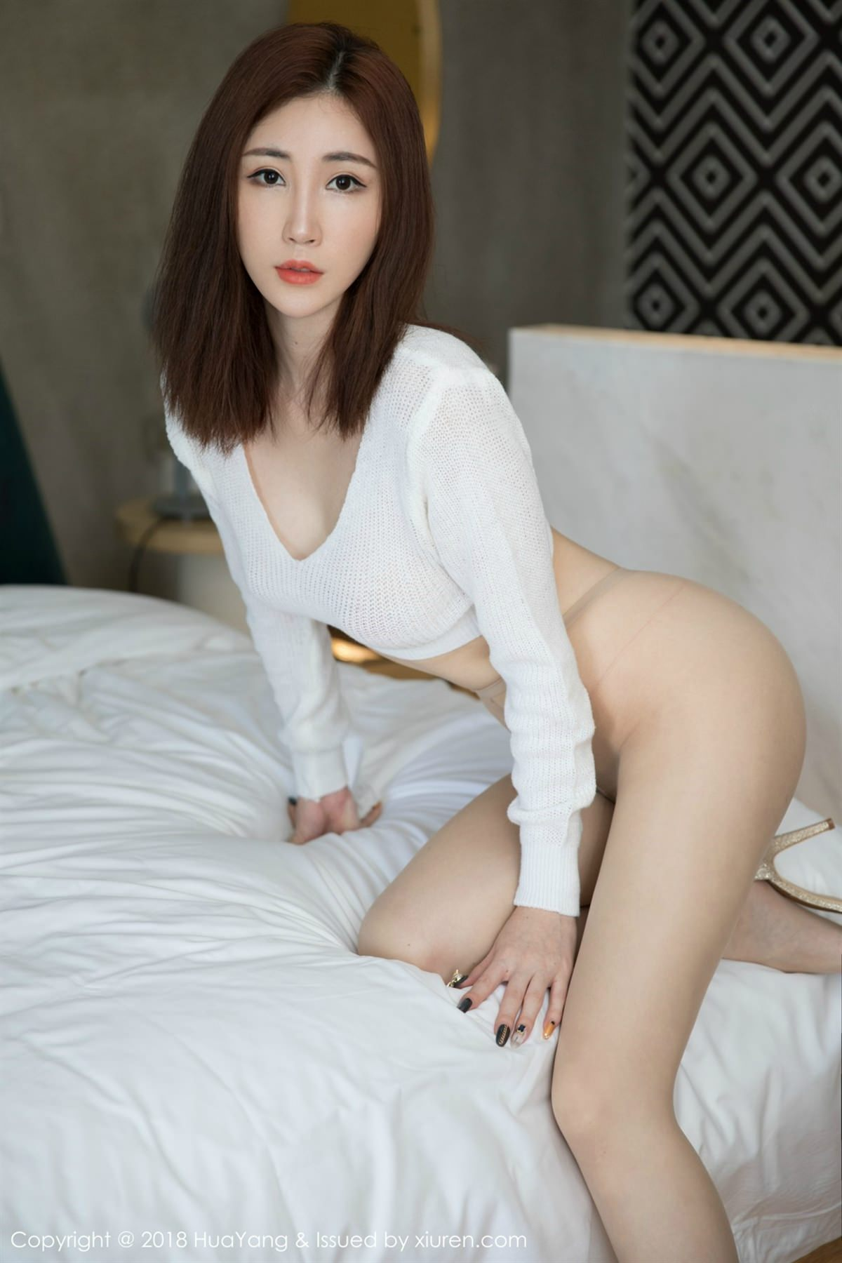 HuaYang Vol.064 12P, HuaYang, Sun Meng Yao