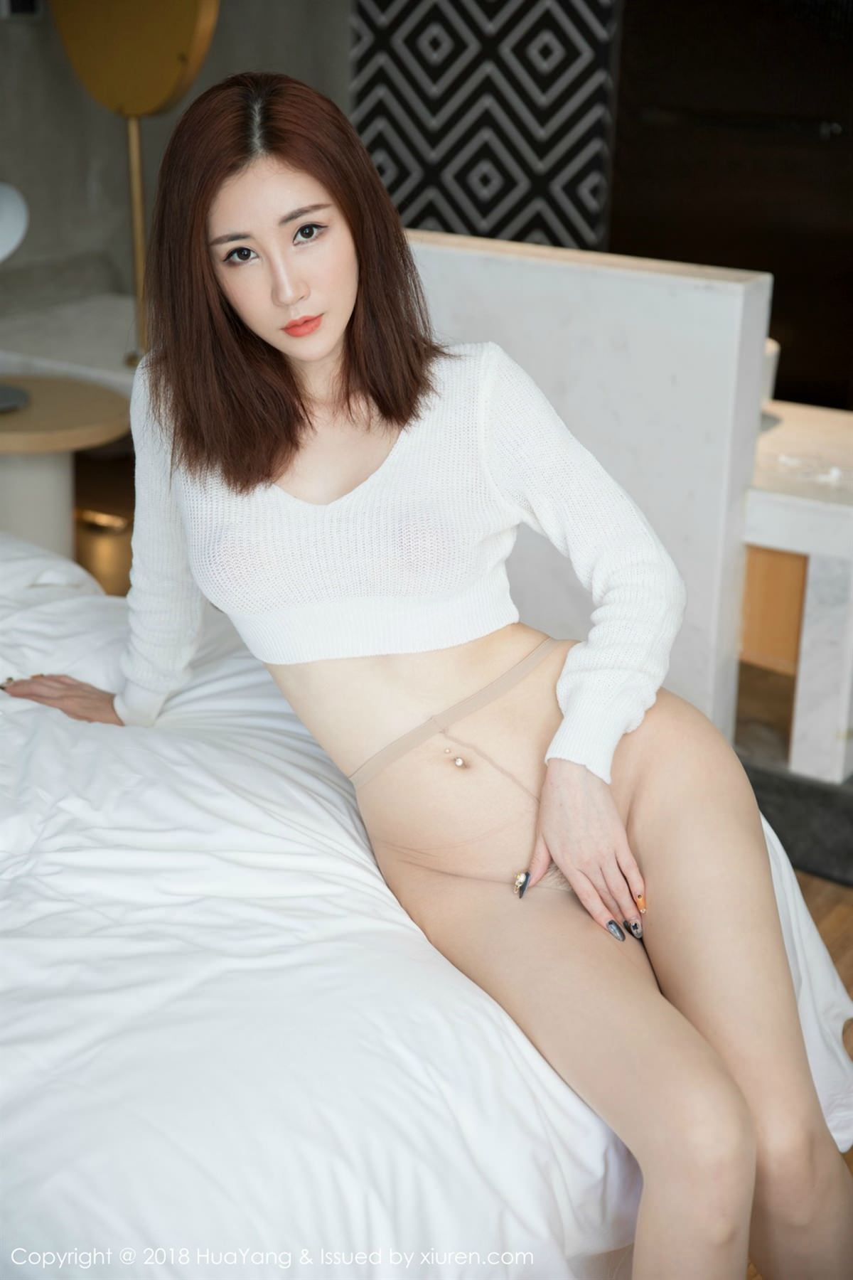 HuaYang Vol.064 5P, HuaYang, Sun Meng Yao