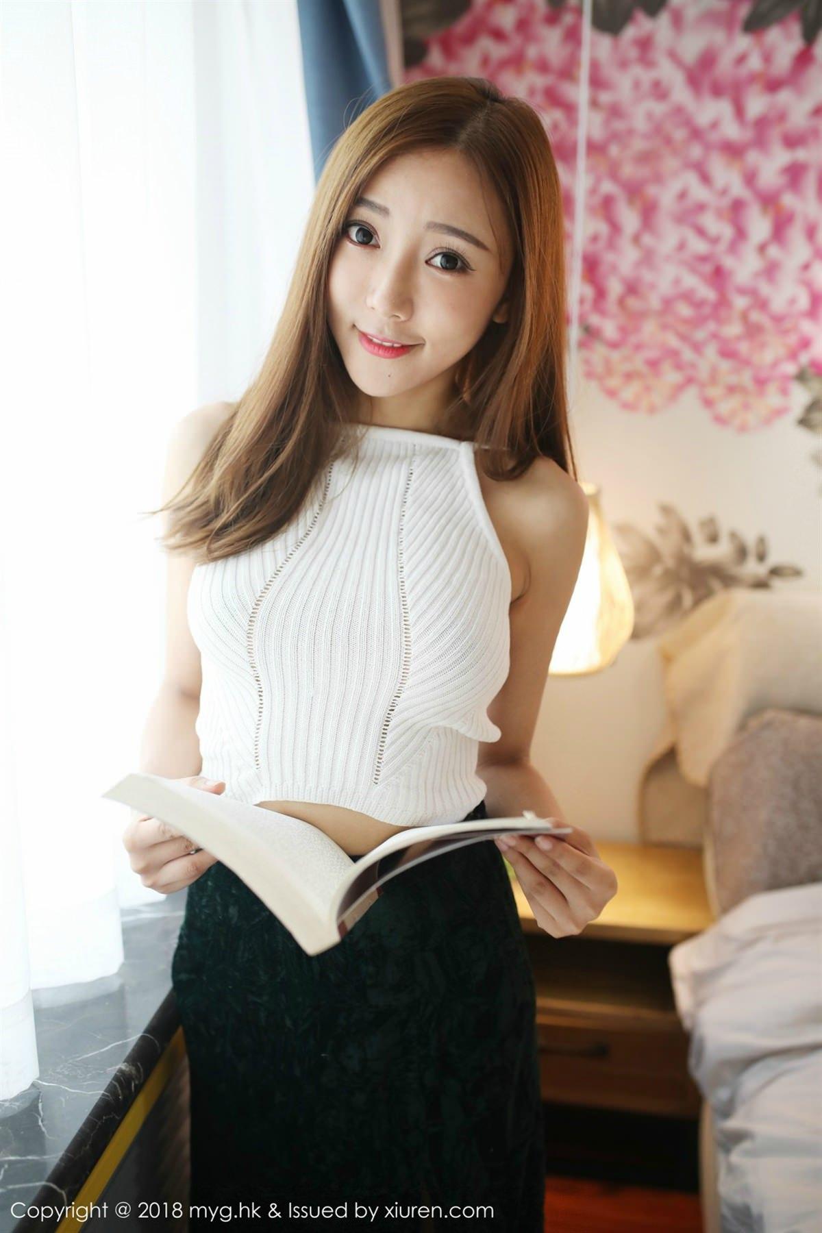 MyGirl Vol.293 38P, mygirl, Wang Xin Yao