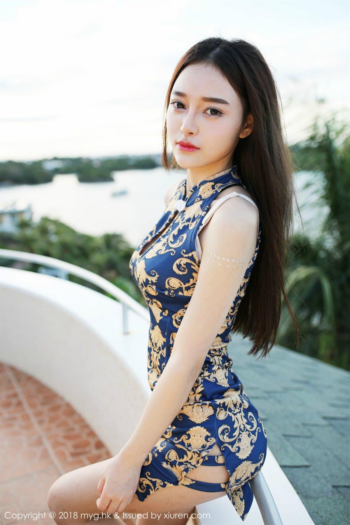 MyGirl Vol.300 43P, mygirl, Tang Qi Er