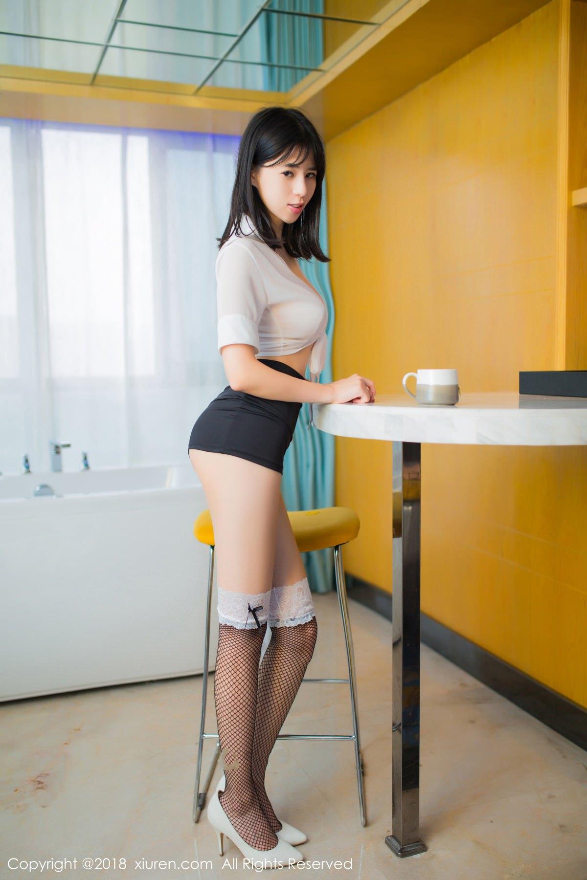 XiuRen No.1014 19P, Ai Li Li, Xiuren, You You Jiang