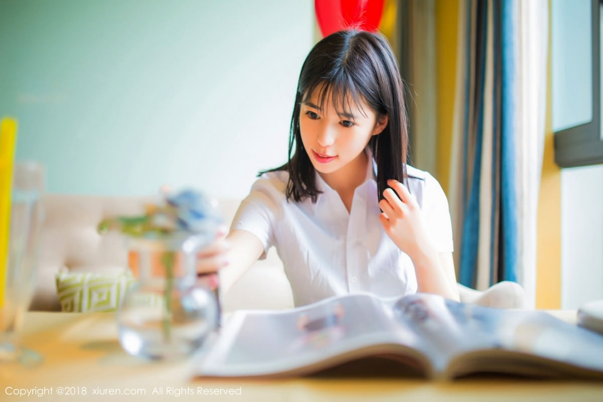 XiuRen No.1014 29P, Ai Li Li, Xiuren, You You Jiang