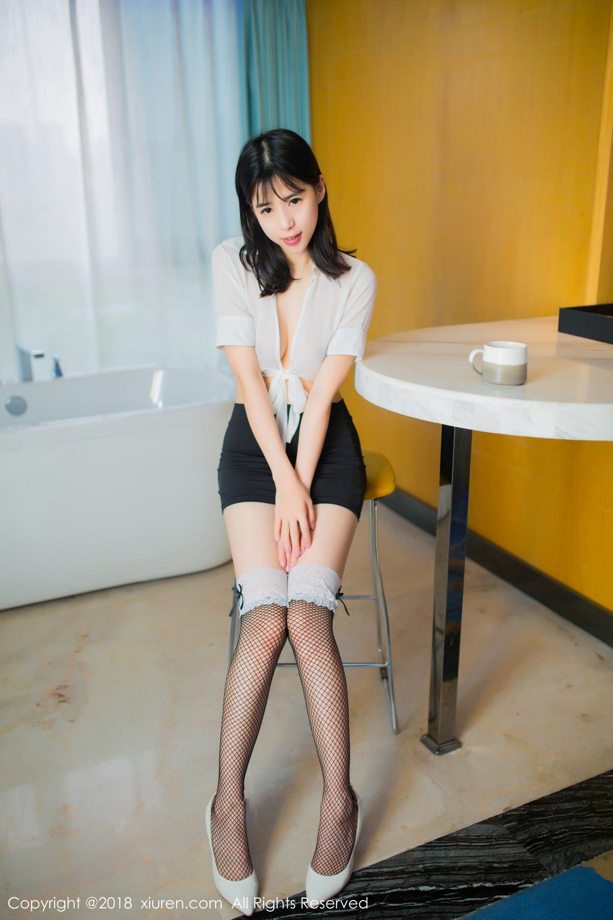 XiuRen No.1014 2P, Ai Li Li, Xiuren, You You Jiang
