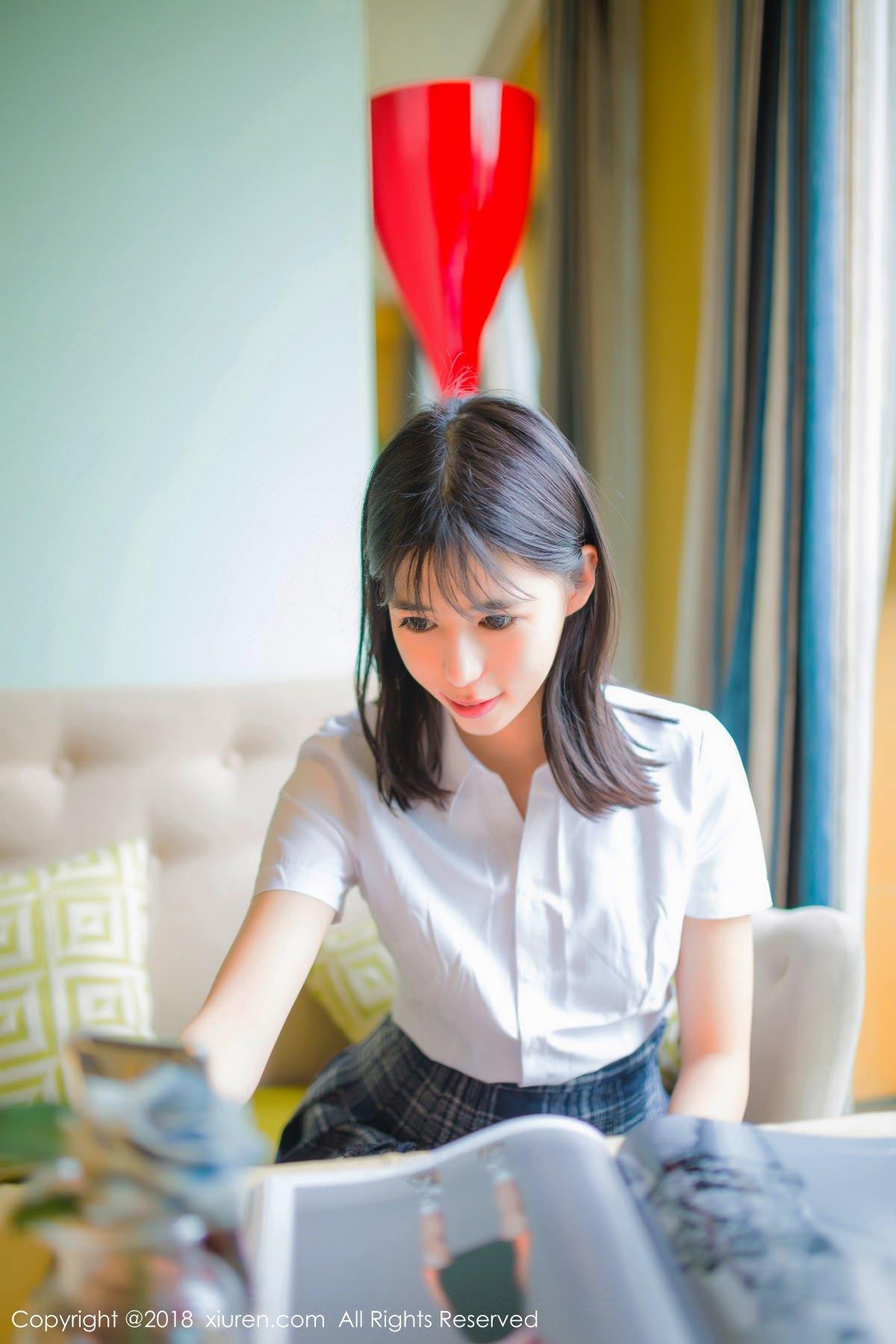 XiuRen No.1014 30P, Ai Li Li, Xiuren, You You Jiang