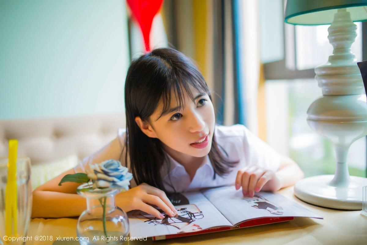 XiuRen No.1014 45P, Ai Li Li, Xiuren, You You Jiang