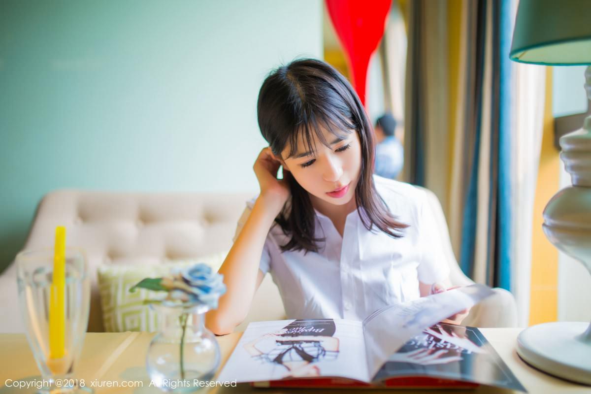 XiuRen No.1014 46P, Ai Li Li, Xiuren, You You Jiang