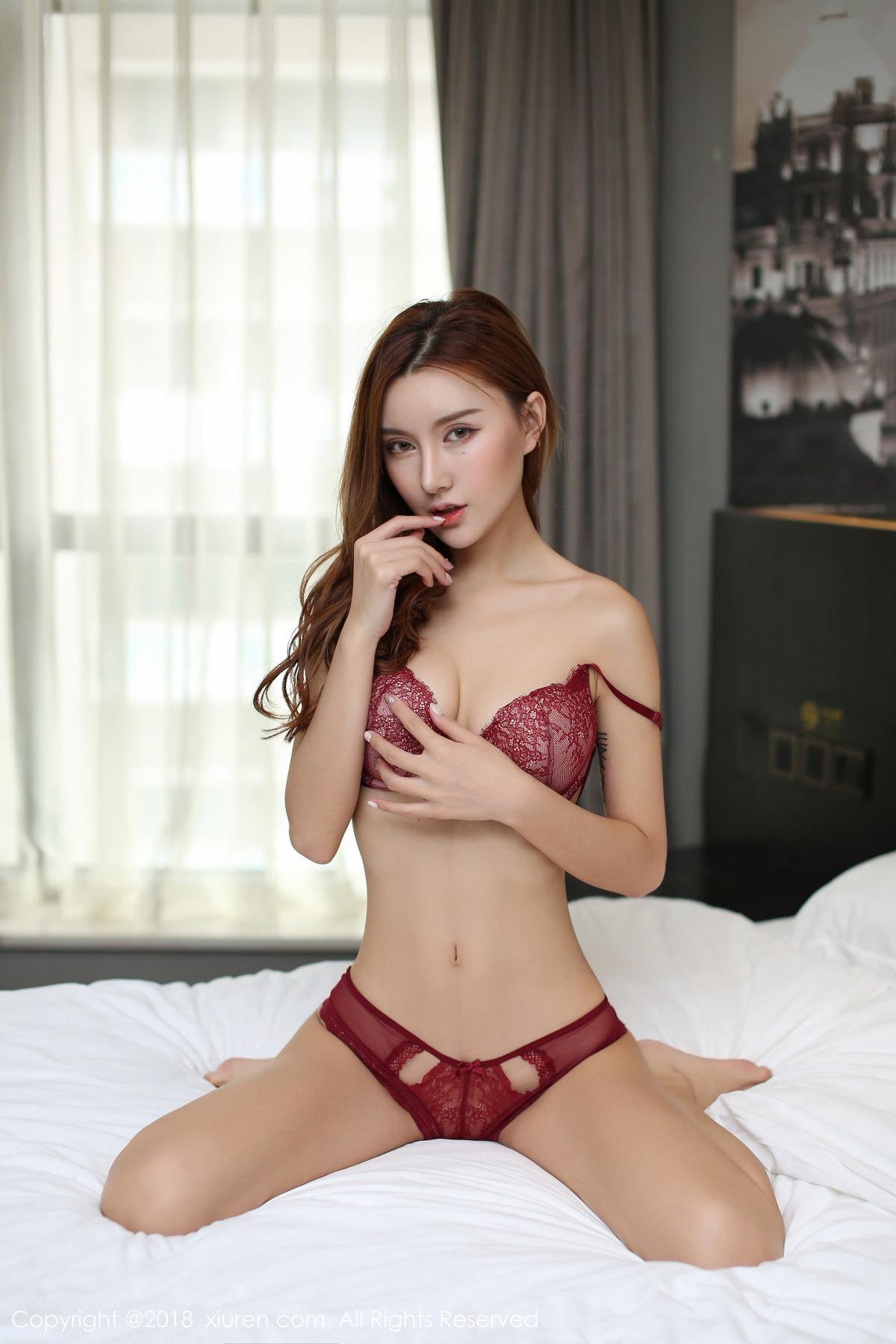 XiuRen No.1044 18P, Ji Meng, Xiuren