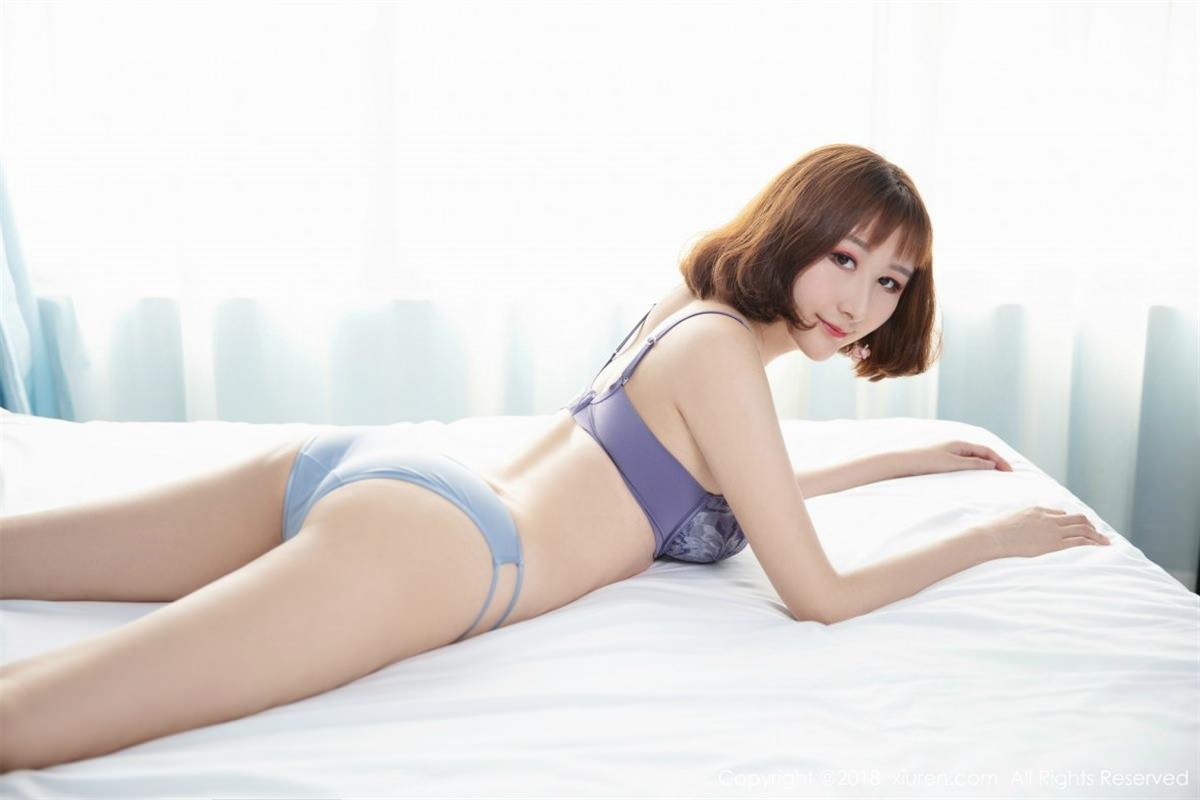 XiuRen No.1046 3P, Jiu Wei, Xiuren