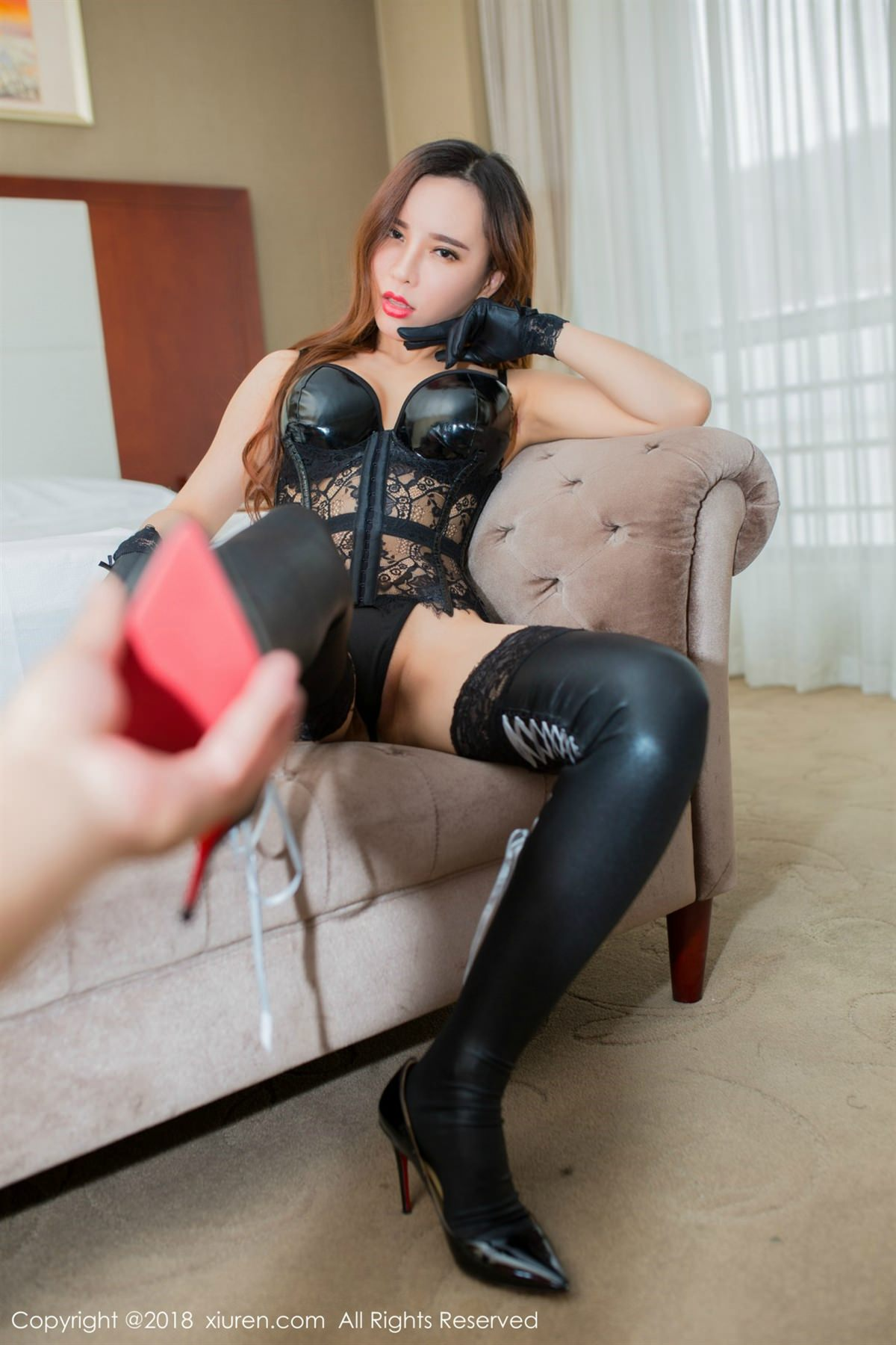 XiuRen No.1047 34P, Ai Xiao Qing, Xiuren