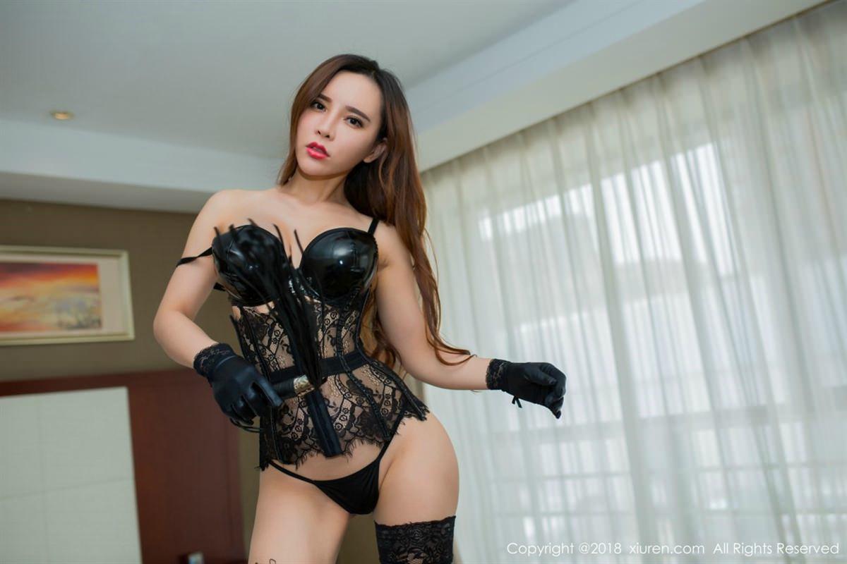 XiuRen No.1047 46P, Ai Xiao Qing, Xiuren