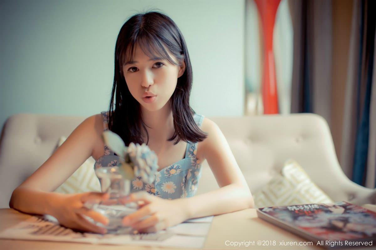 XiuRen No.1057 12P, Ai Li Li, Xiuren
