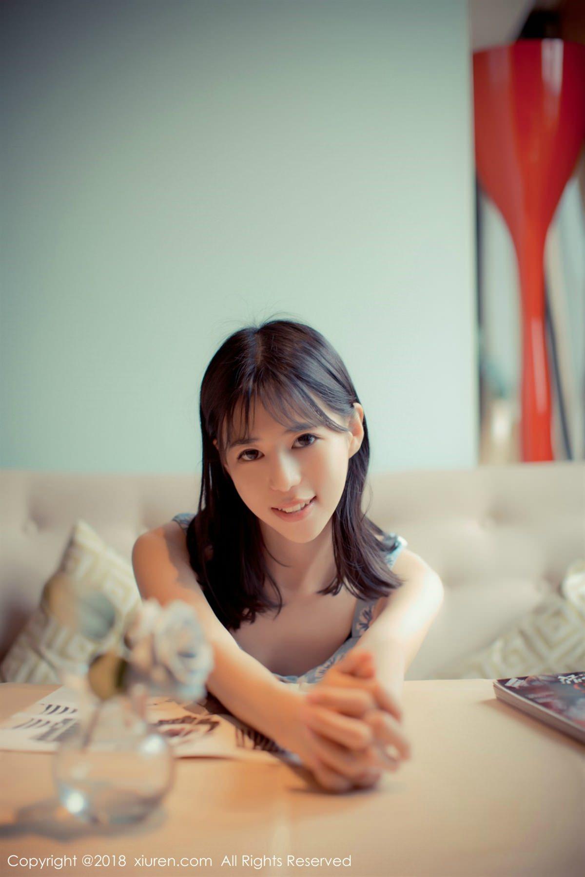 XiuRen No.1057 3P, Ai Li Li, Xiuren