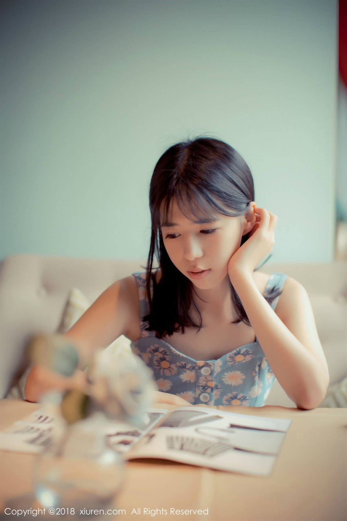 XiuRen No.1057 5P, Ai Li Li, Xiuren