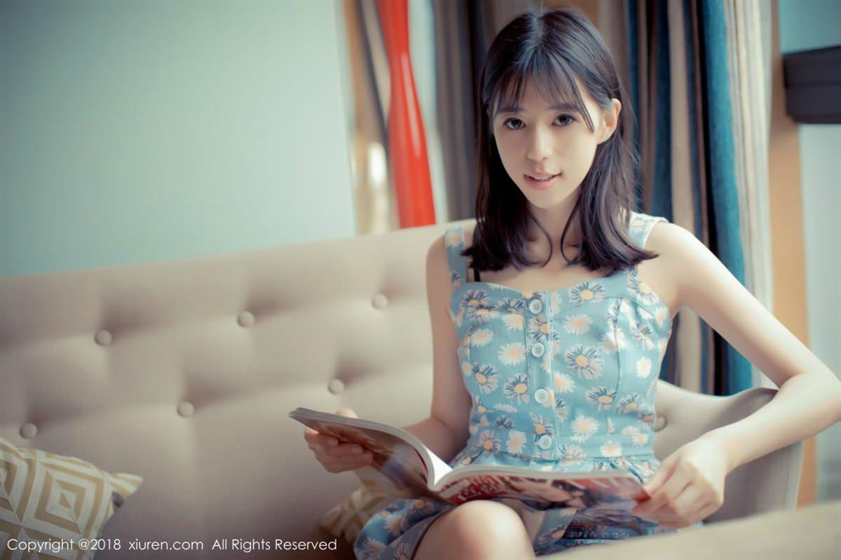 XiuRen No.1057 7P, Ai Li Li, Xiuren