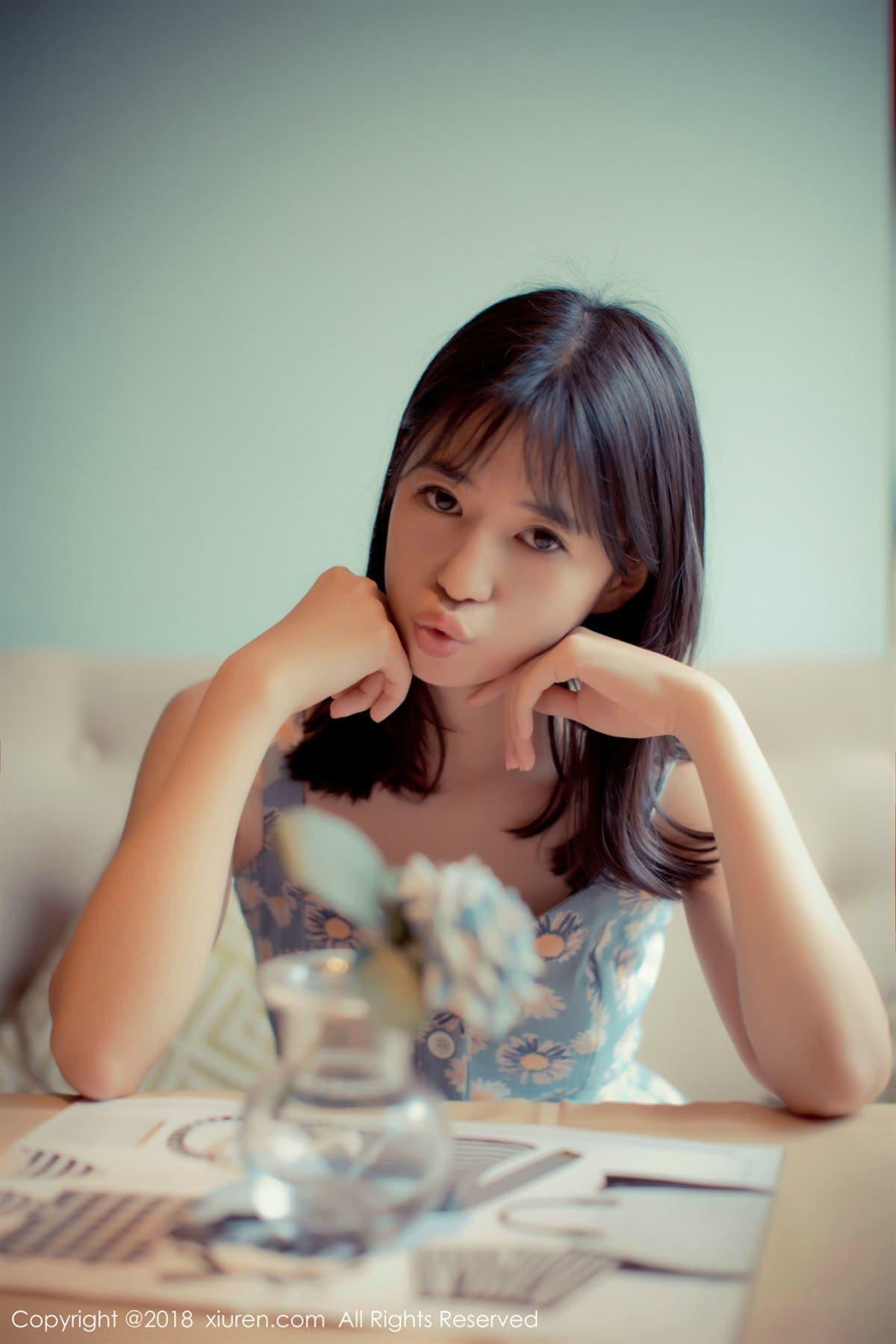 XiuRen No.1057 9P, Ai Li Li, Xiuren