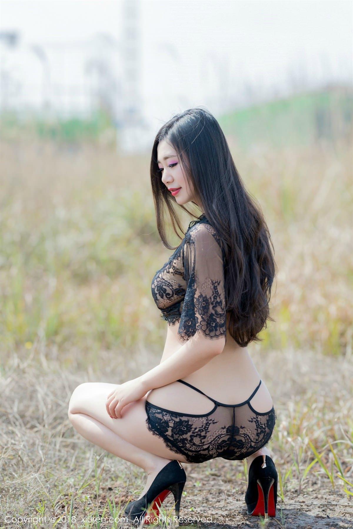 XiuRen No.1058 3P, Song Ki Ki, Xiuren