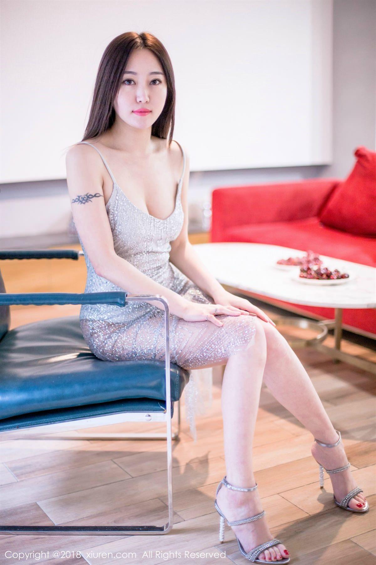 XiuRen No.1072 16P, Xiuren, Yi Wen Eva