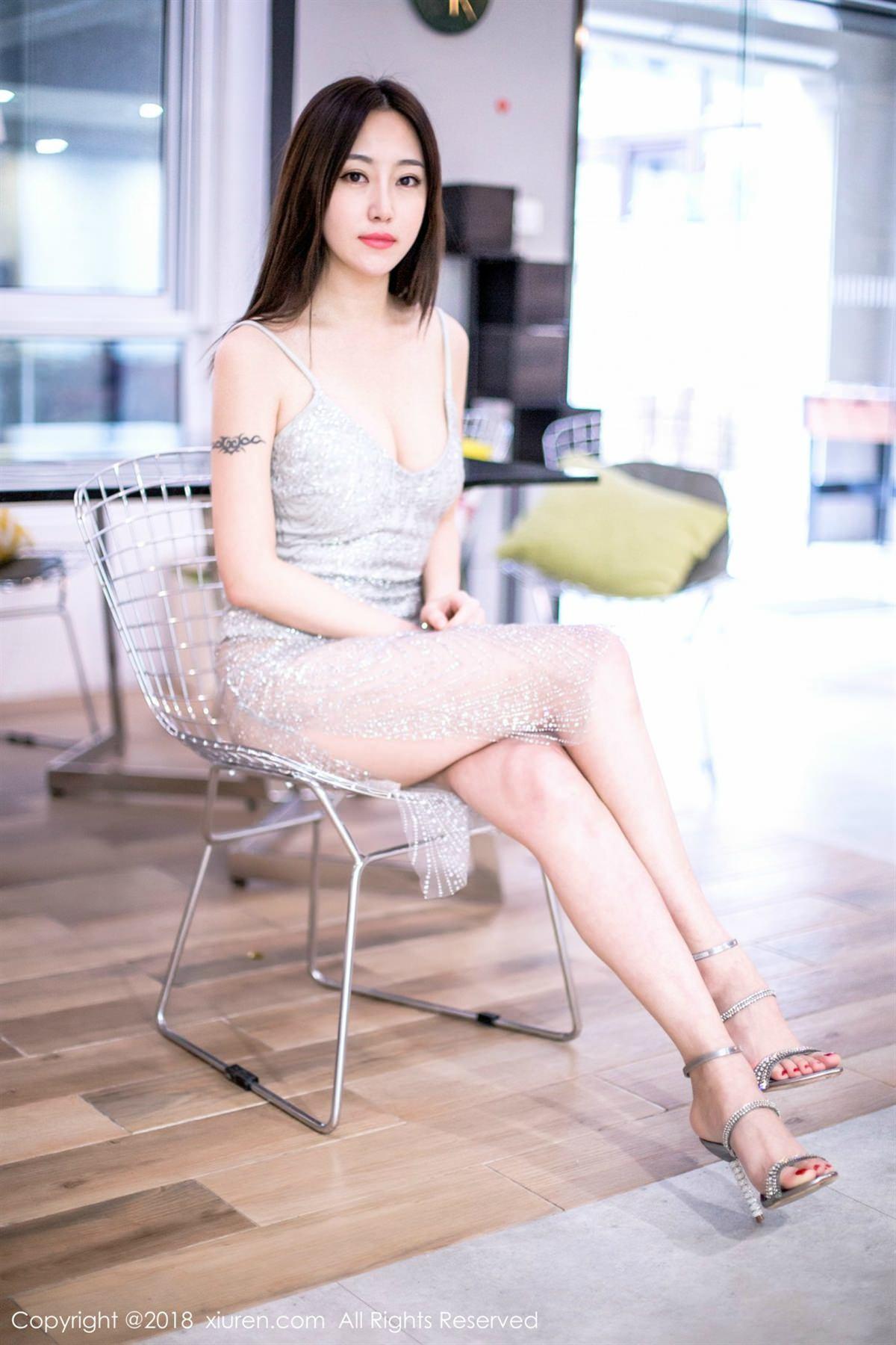 XiuRen No.1072 18P, Xiuren, Yi Wen Eva