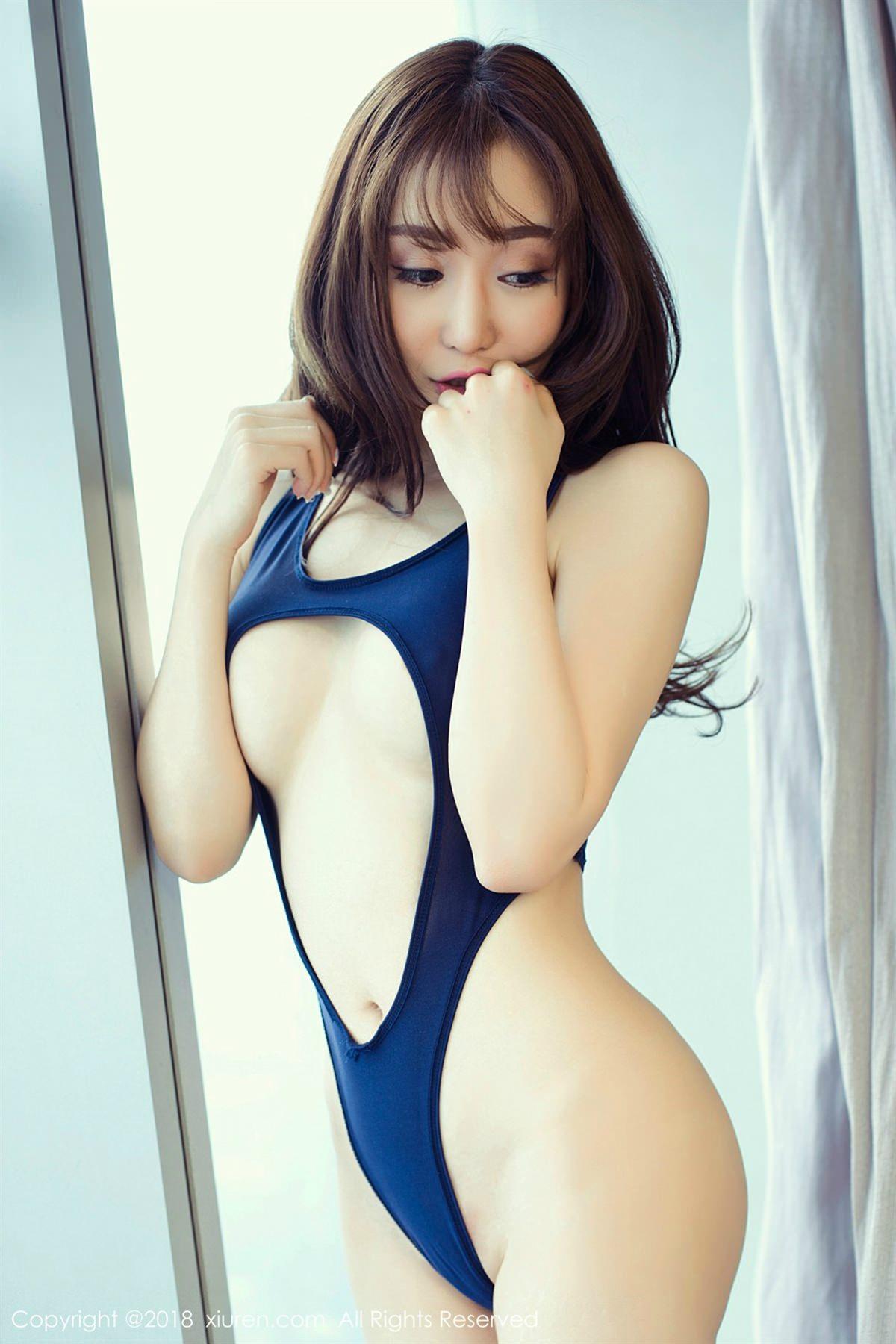 XiuRen No.1079 3P, Xian Mi Er, Xiuren