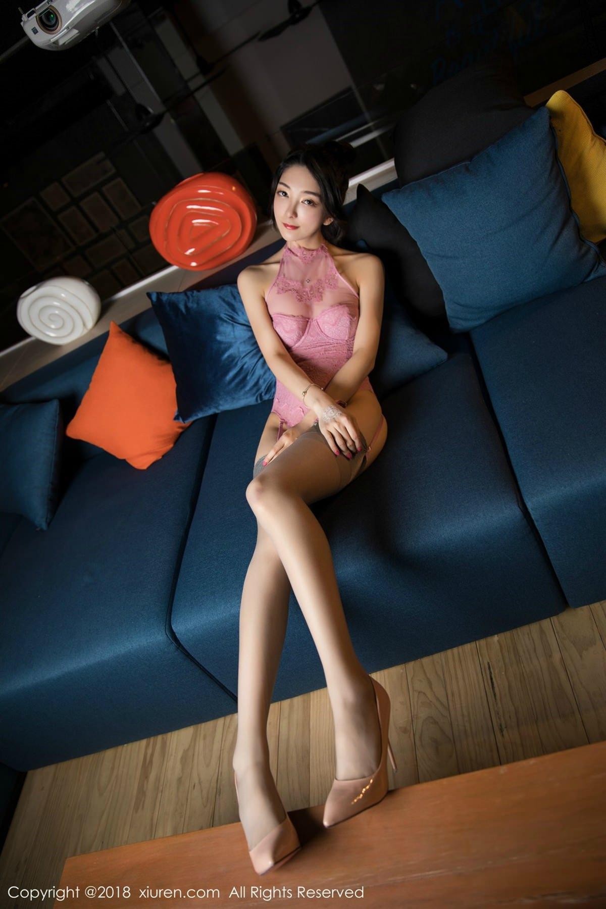 XiuRen No.1080 3P, Di Yi, Xiuren