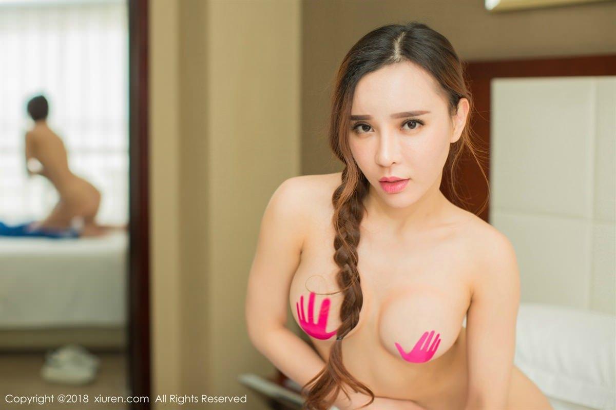 XiuRen No.1084 14P, Ai Xiao Qing, Xiuren