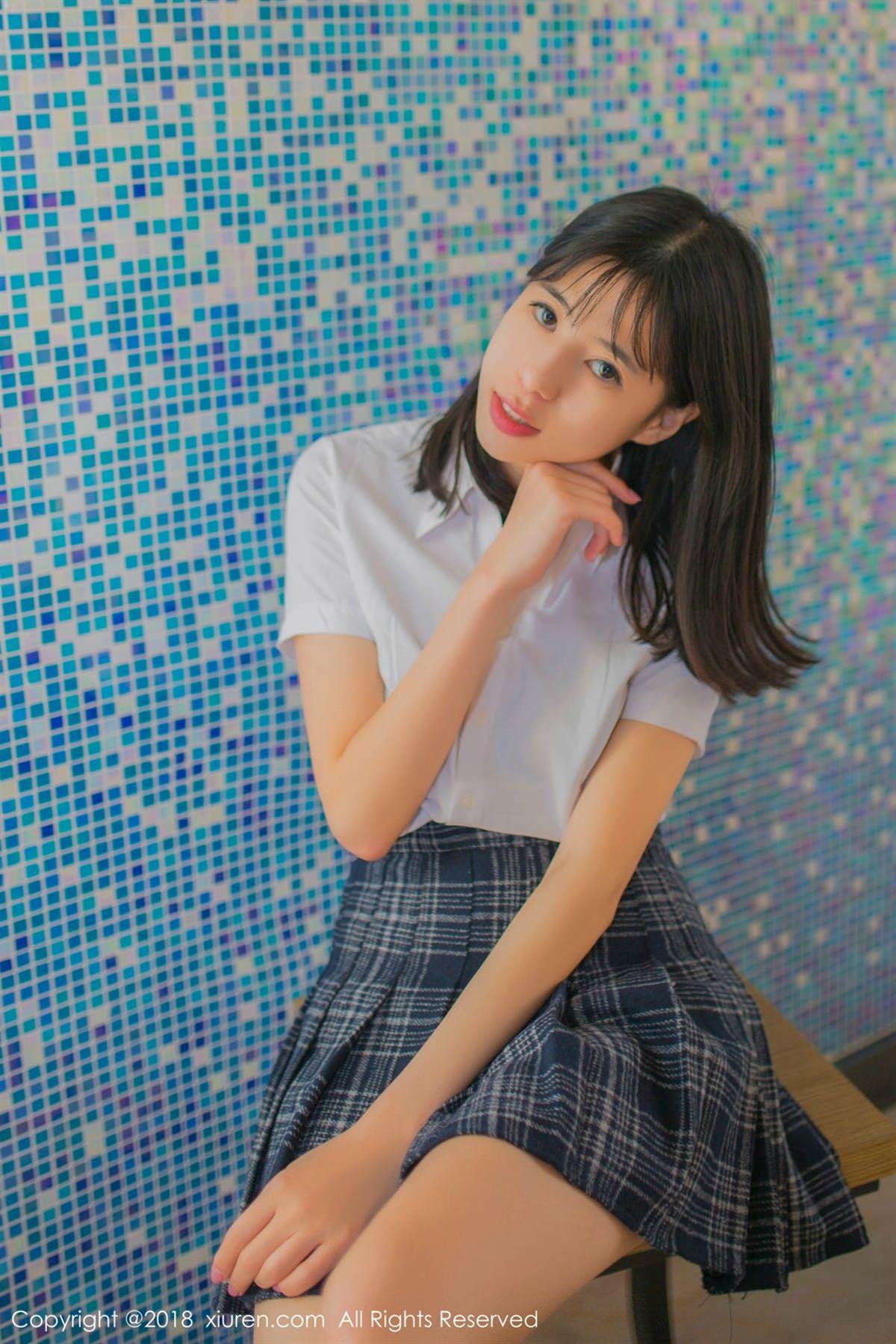 XiuRen No.1094 4P, Ai Li Li, Xiuren