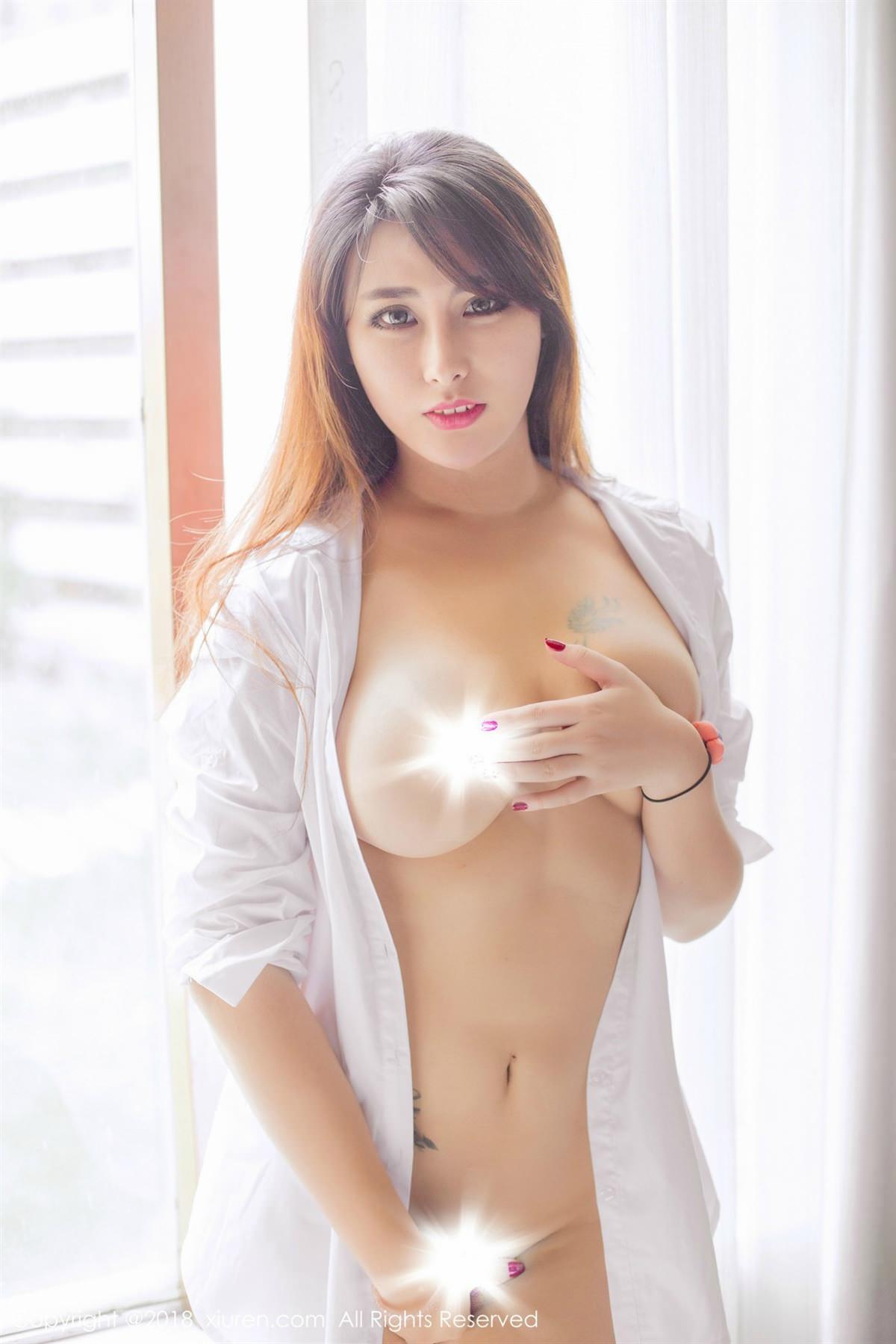 XiuRen No.1096 1P, Meng Hu Li, Xiuren