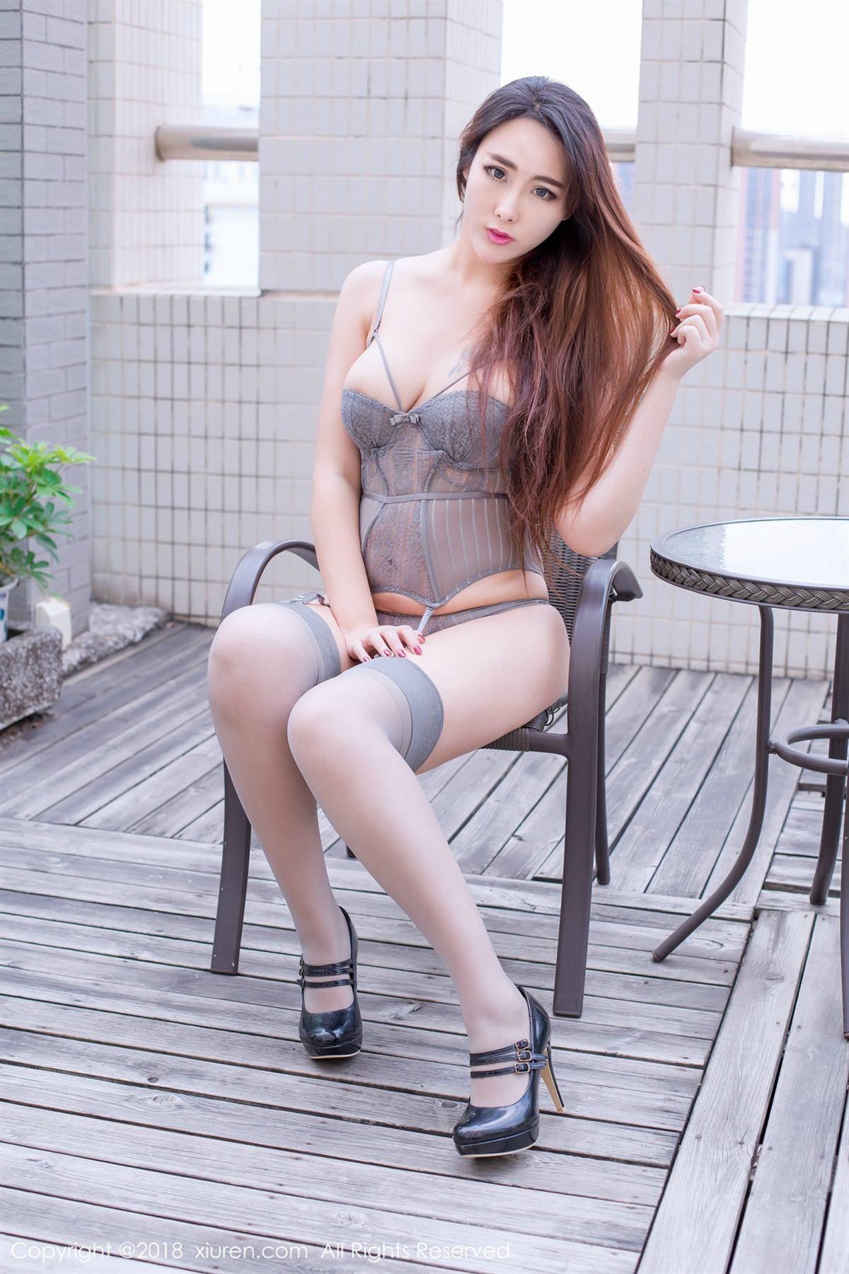 XiuRen No.1096 30P, Meng Hu Li, Xiuren