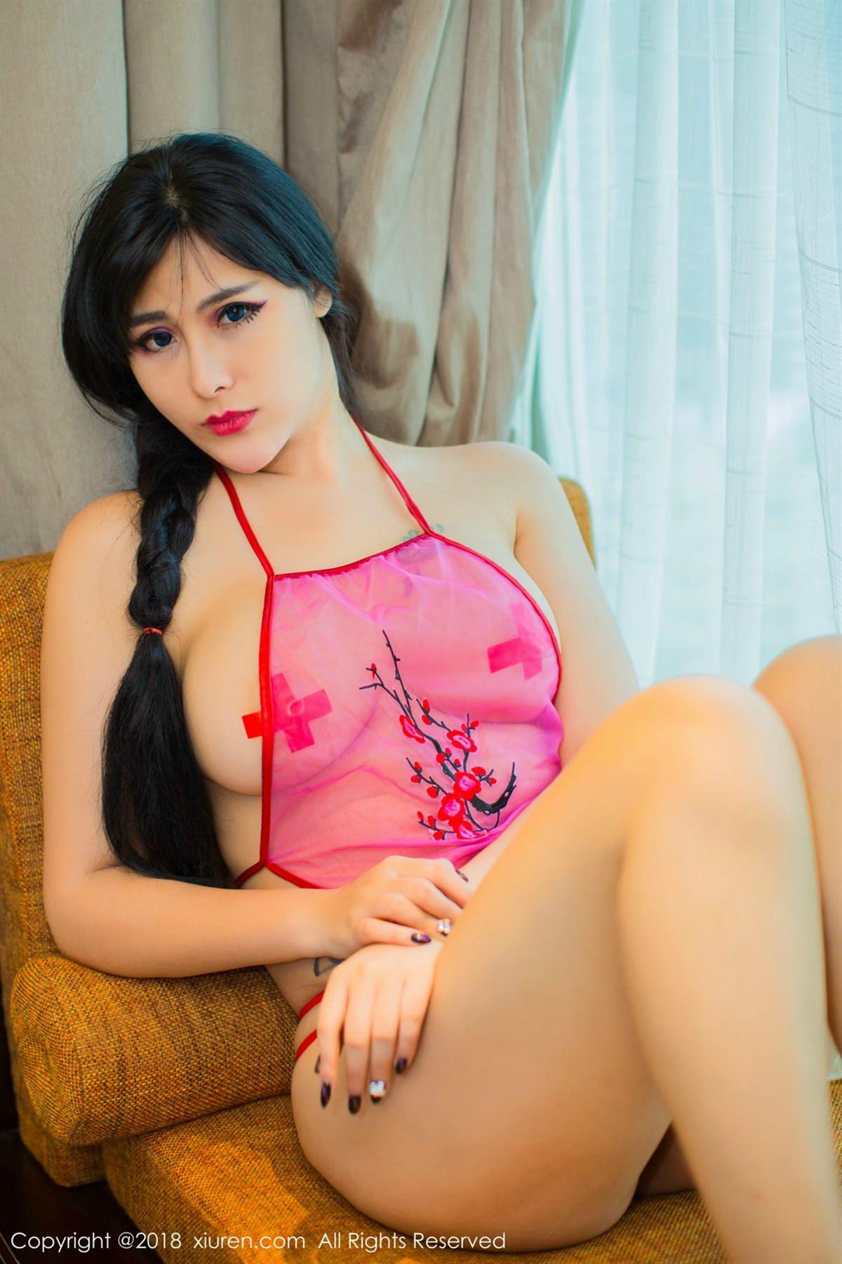 XiuRen No.1120 32P, Meng Hu Li, Xiuren