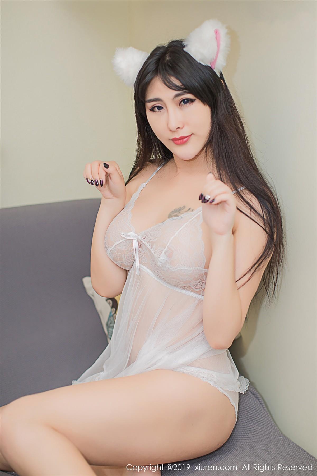 XiuRen No.1342 46P, Meng Hu Li, Xiuren