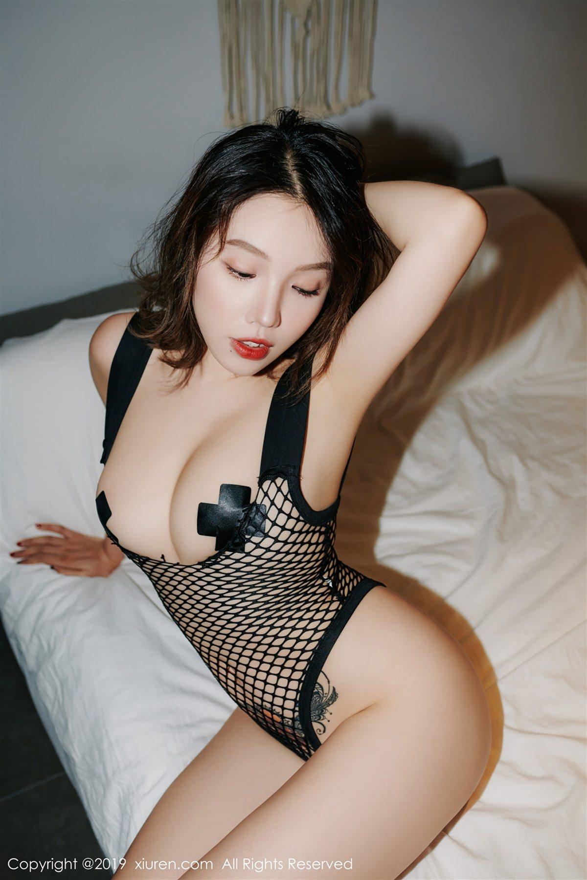 XiuRen No.1348 3P, Huang Le Ran, Xiuren