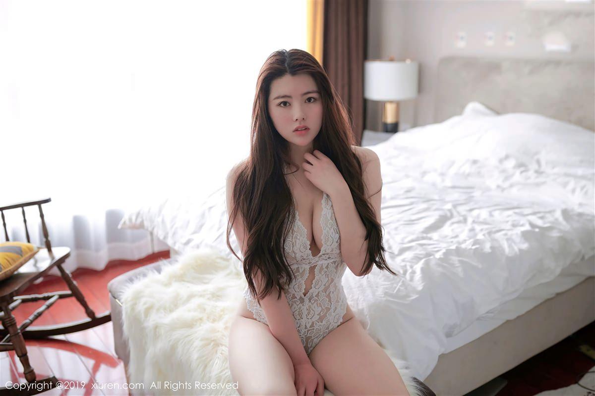 XiuRen No.1356 3P, Na Lu Selena, Xiuren