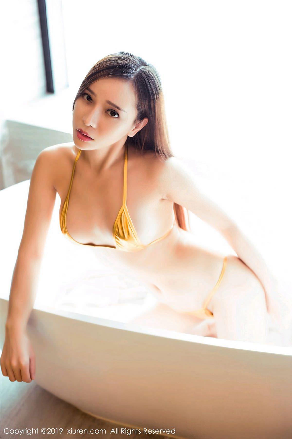 XiuRen No.1364 2P, Ai Xiao Qing, Xiuren