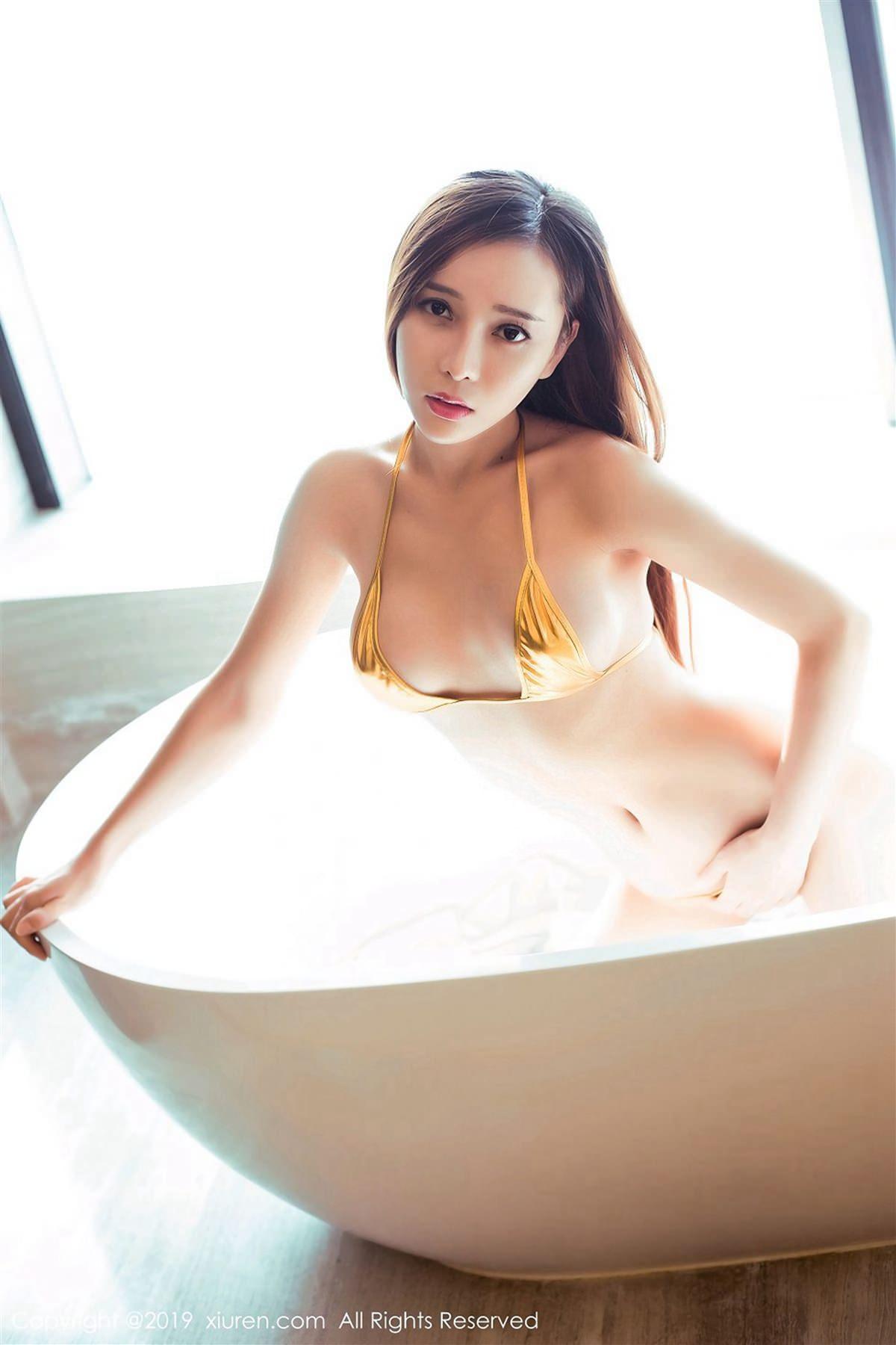 XiuRen No.1364 46P, Ai Xiao Qing, Xiuren