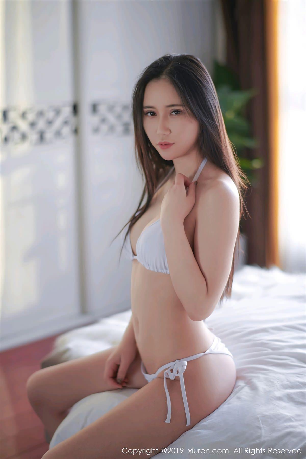 XiuRen No.1369 3P, Bai Bai Alina, Xiuren