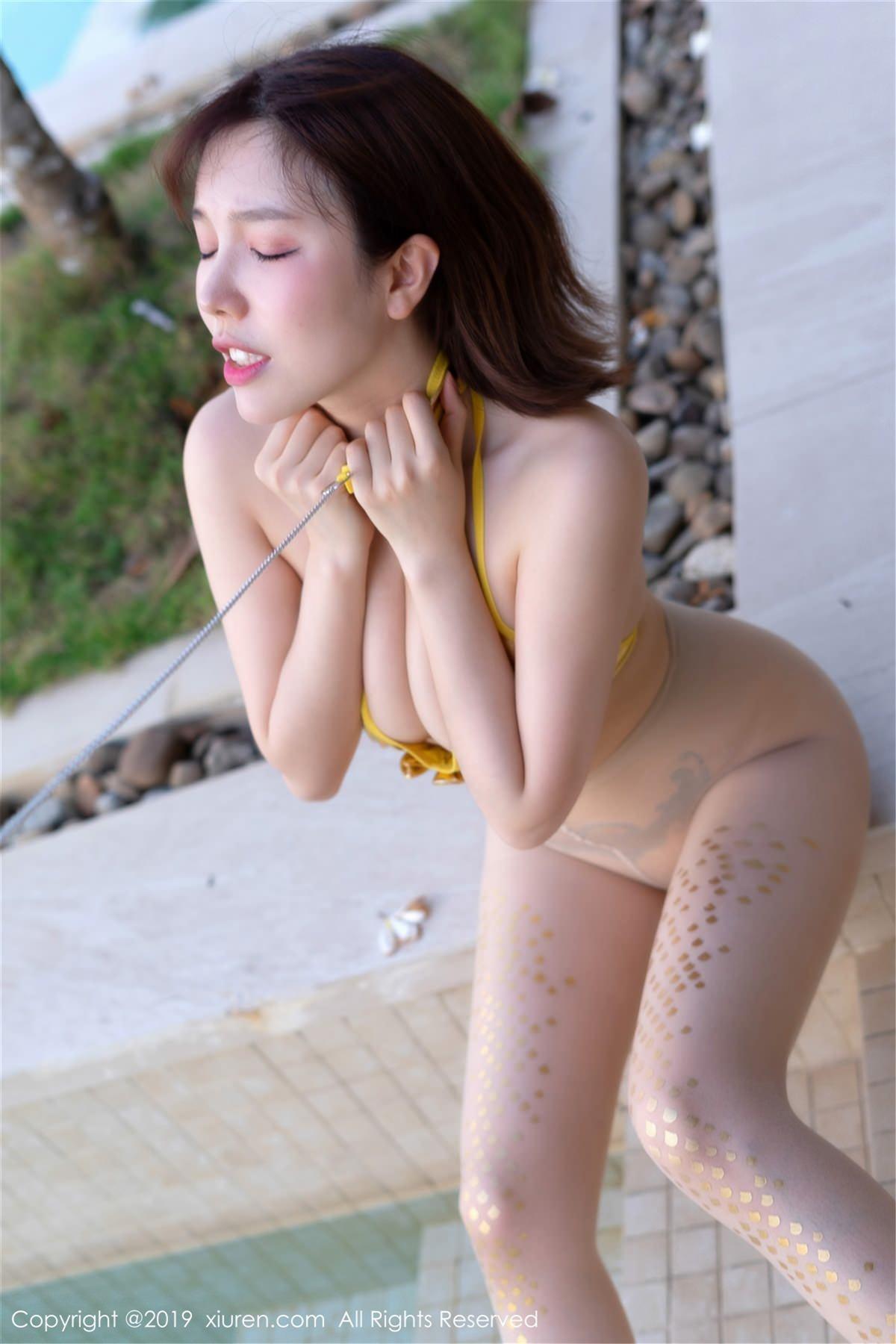 XiuRen No.1389 4P, Huang Le Ran, Xiuren