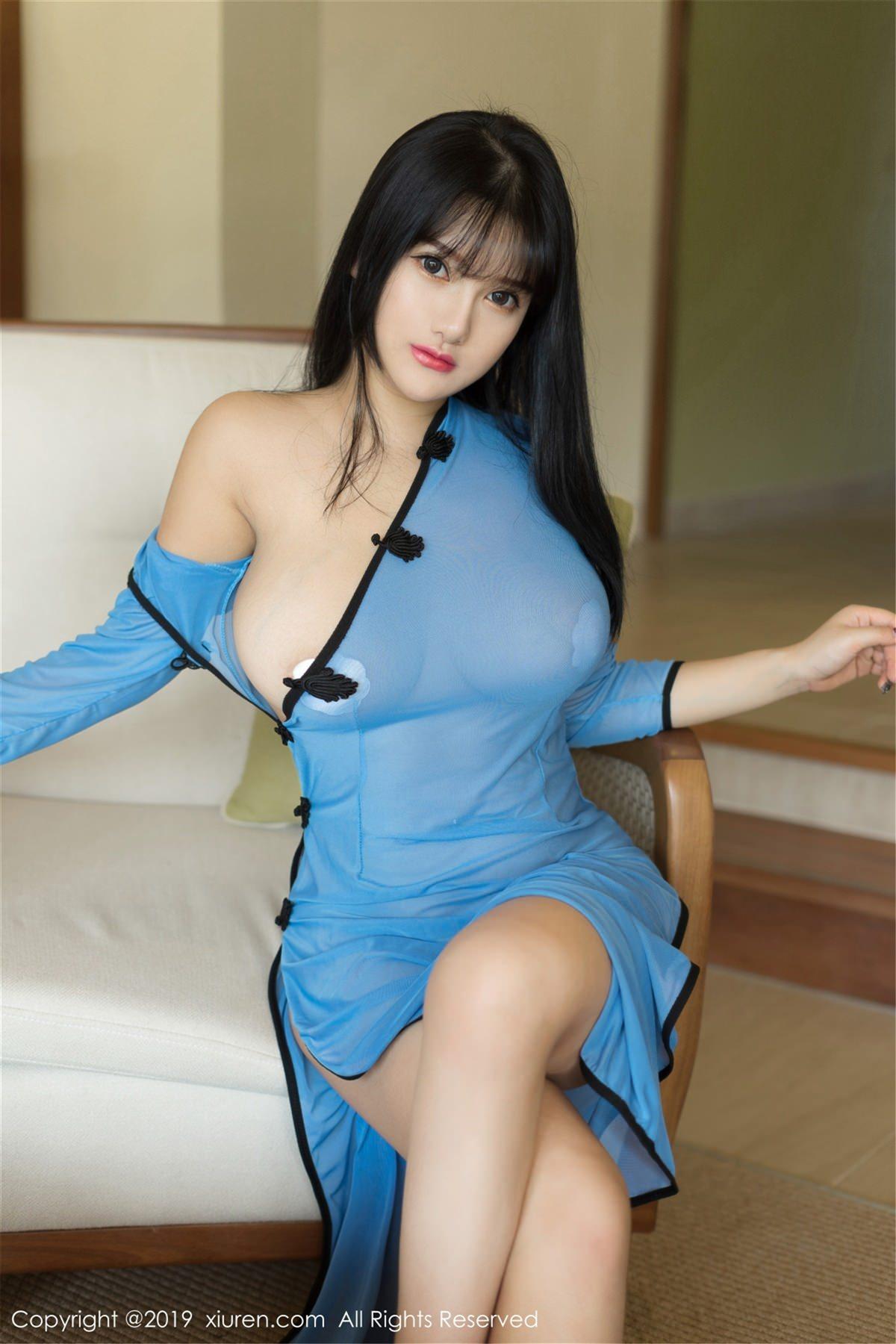 XiuRen No.1392 3P, Lu Lu Xiao Miao, Xiuren
