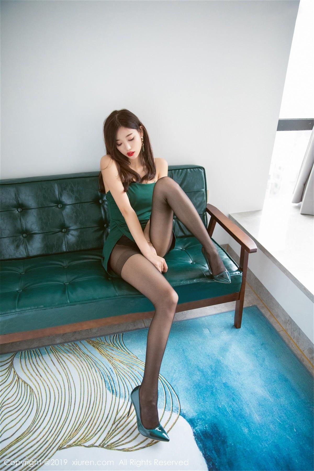 XiuRen No.1425 3P, Xiuren, Yang Chen Chen