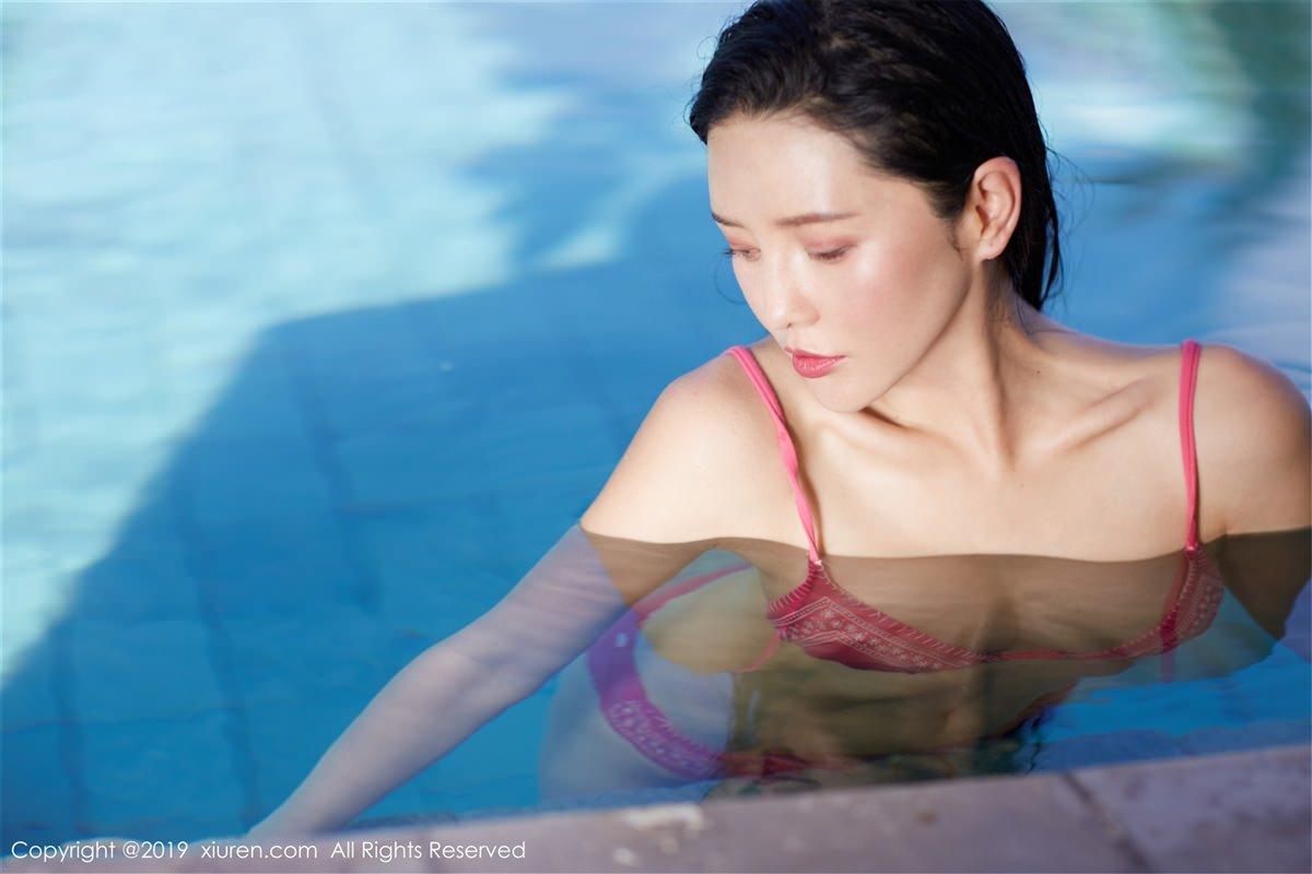 XiuRen No.1430 10P, Hai Xiu De Ying Tao, Xiuren