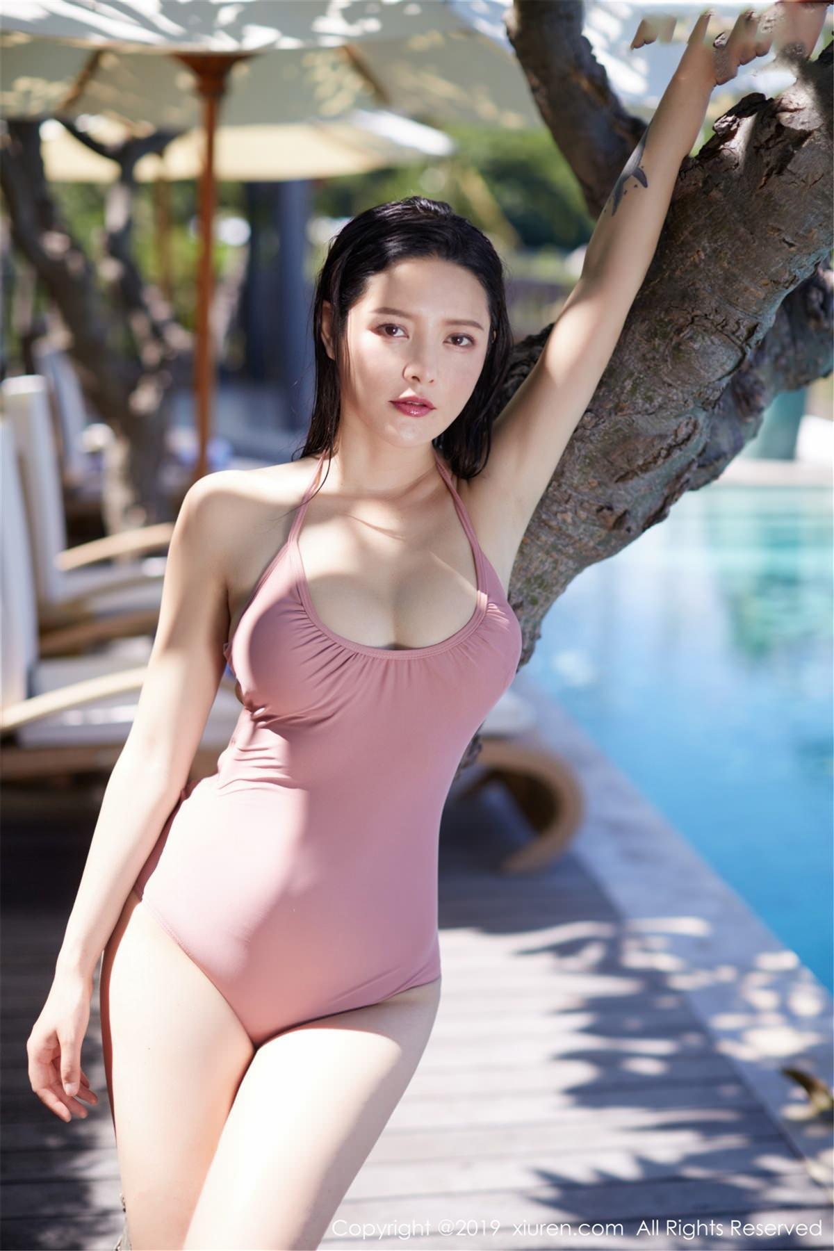 XiuRen No.1430 13P, Hai Xiu De Ying Tao, Xiuren