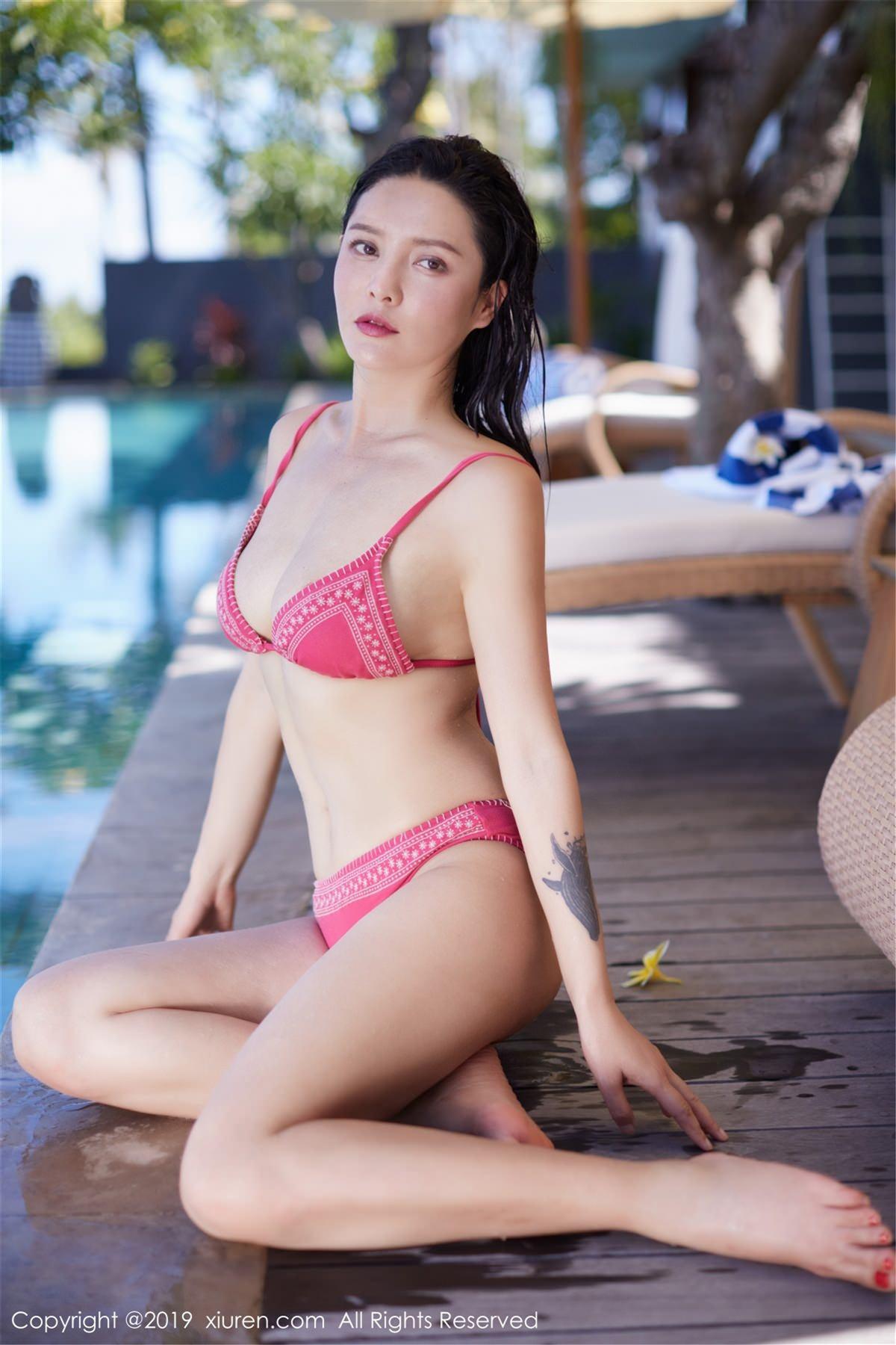 XiuRen No.1430 14P, Hai Xiu De Ying Tao, Xiuren