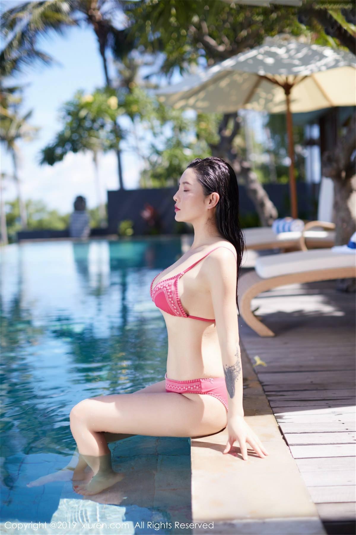 XiuRen No.1430 15P, Hai Xiu De Ying Tao, Xiuren