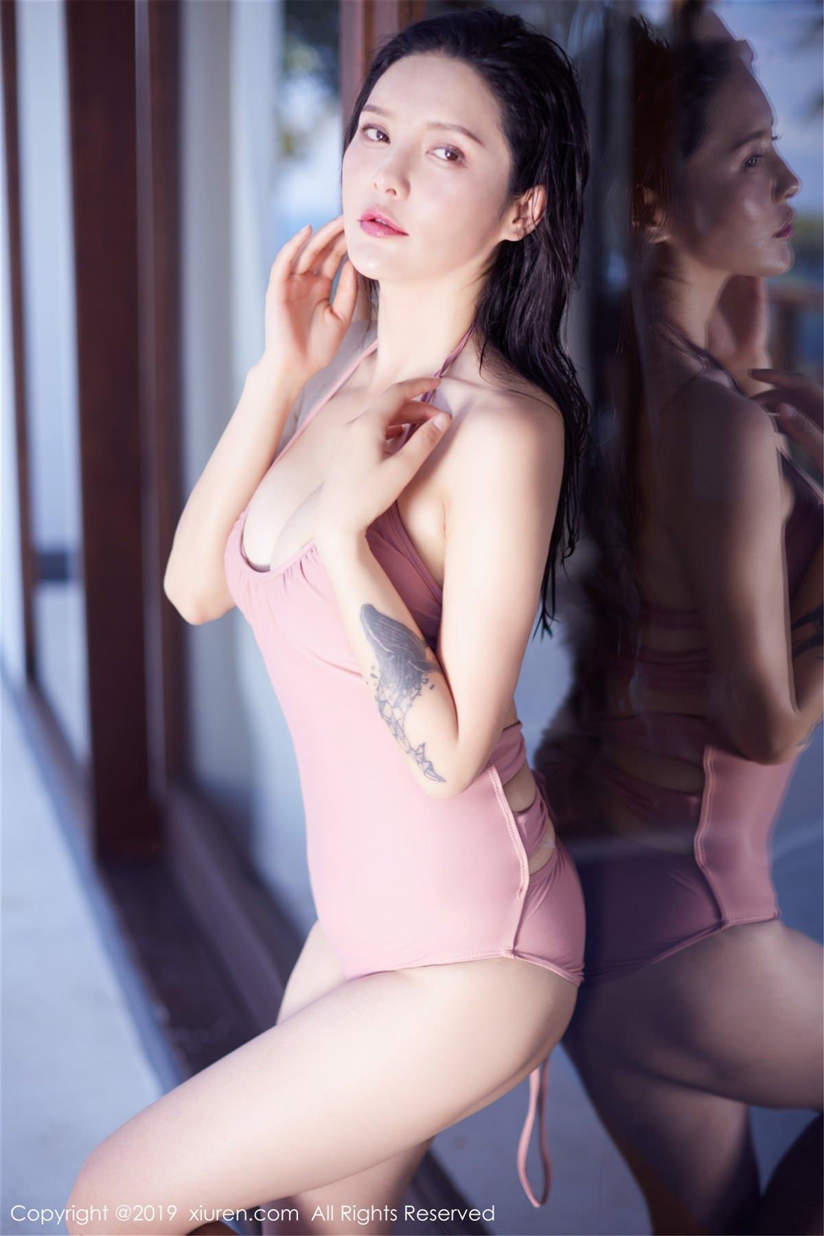 XiuRen No.1430 20P, Hai Xiu De Ying Tao, Xiuren