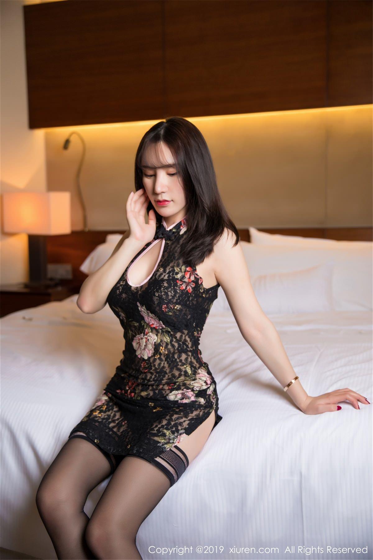 XiuRen No.1442 7P, Xiuren, Zhou Yu Xi