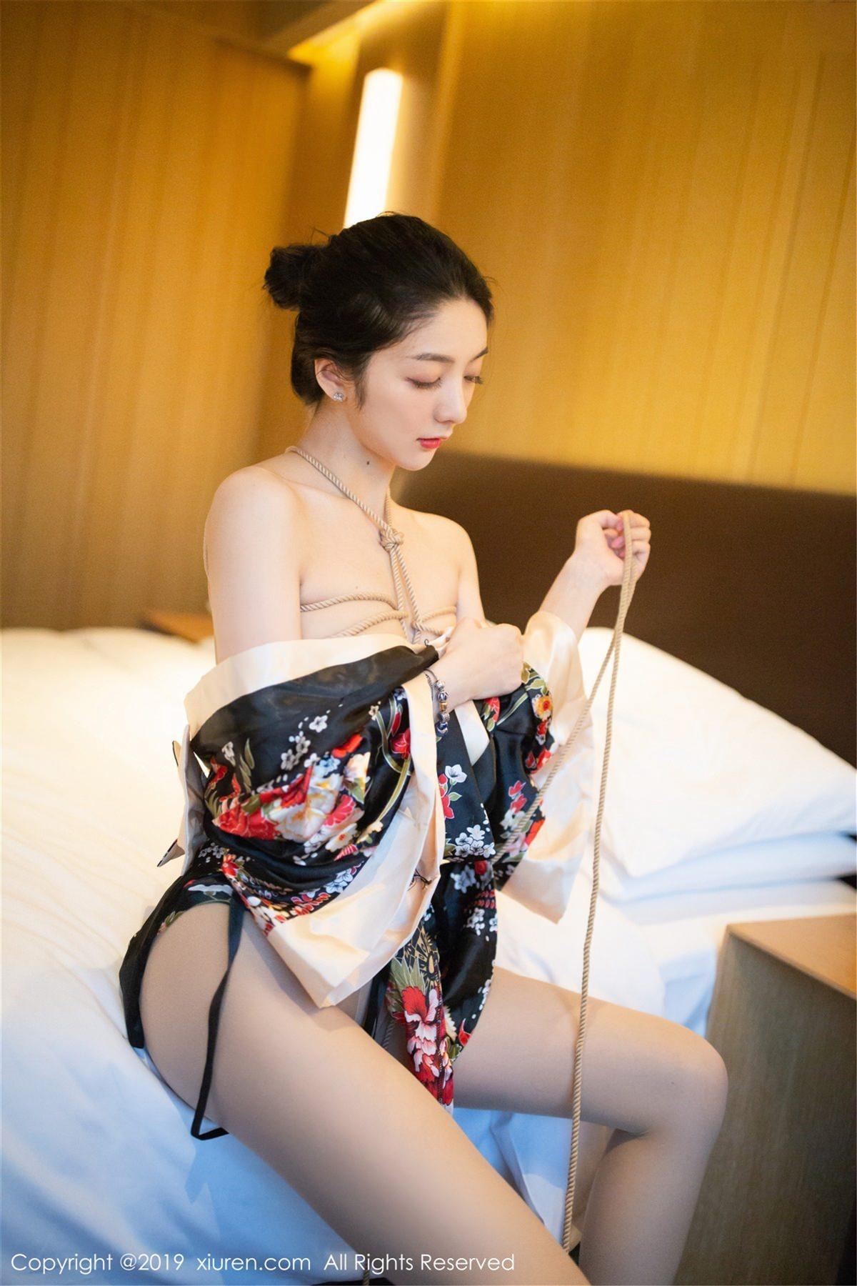 XiuRen No.1444 34P, Di Yi, Xiuren