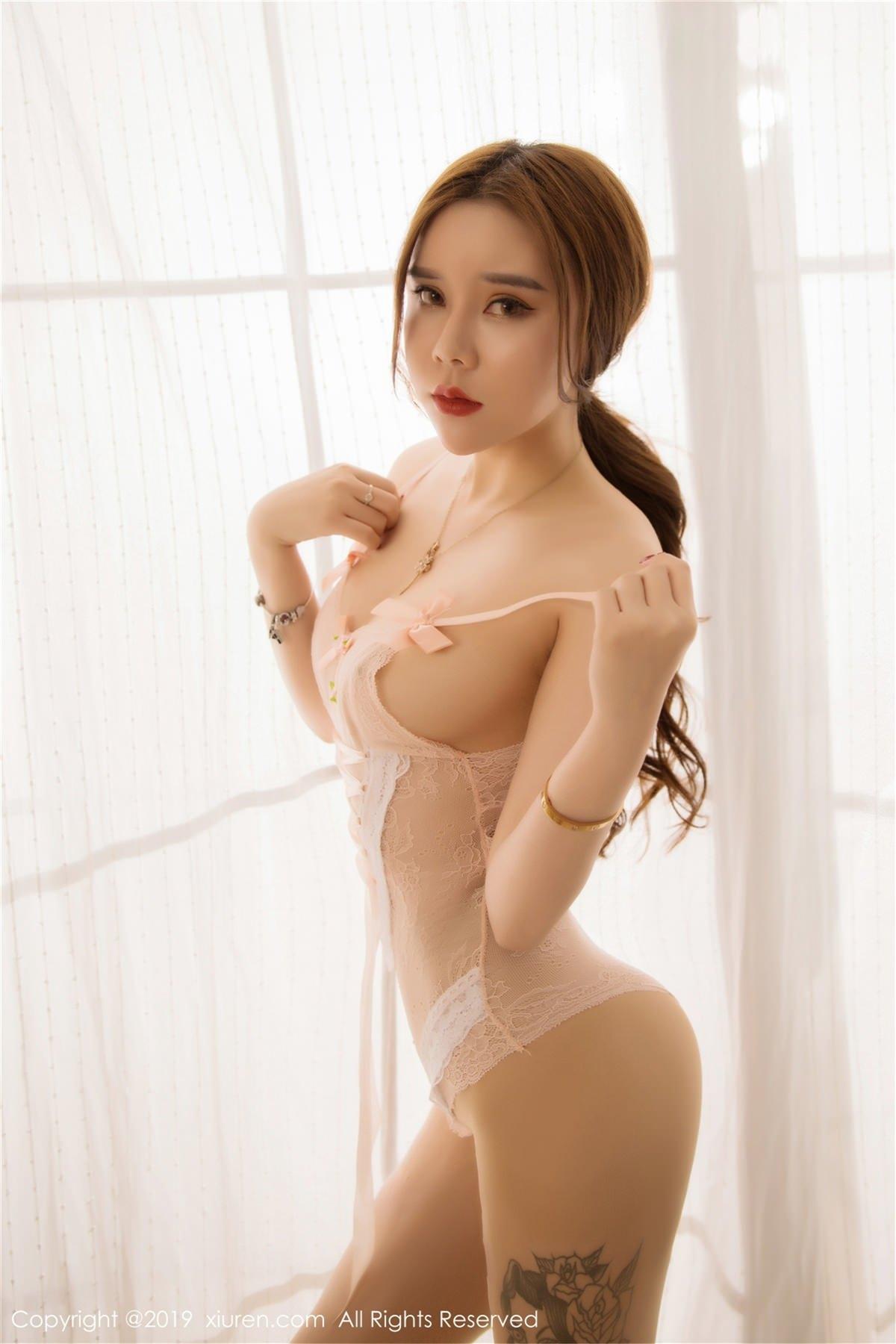 XiuRen No.1448 17P, Ai Li Sha Lisa, Xiuren
